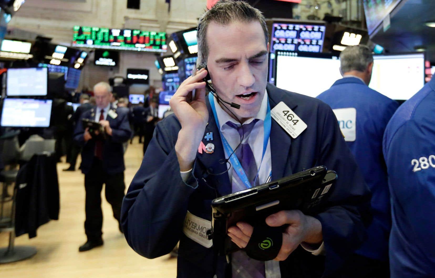 Le réveil de l'inflation et son impact sur les taux d'intérêt reviennent hanter Wall Street.