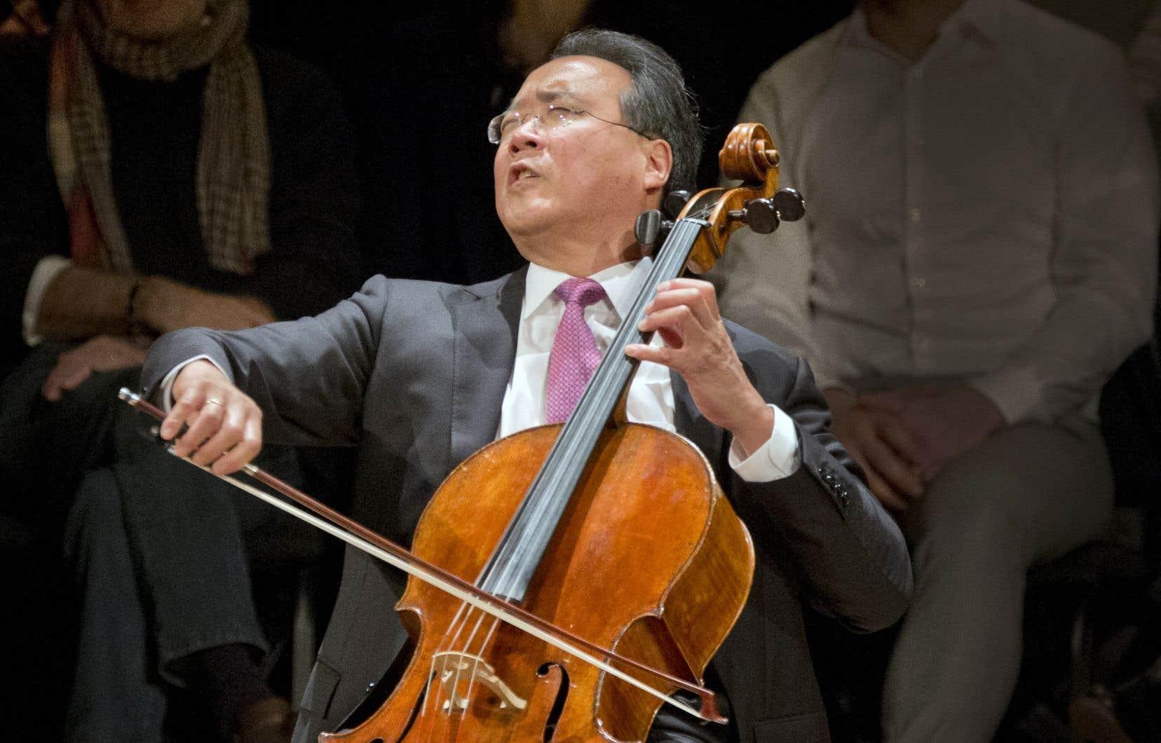 Le violoncelliste Yo-Yo Ma jouera à la soirée de clôture du festival Bach, le 7 décembre, à la Maison symphonique.