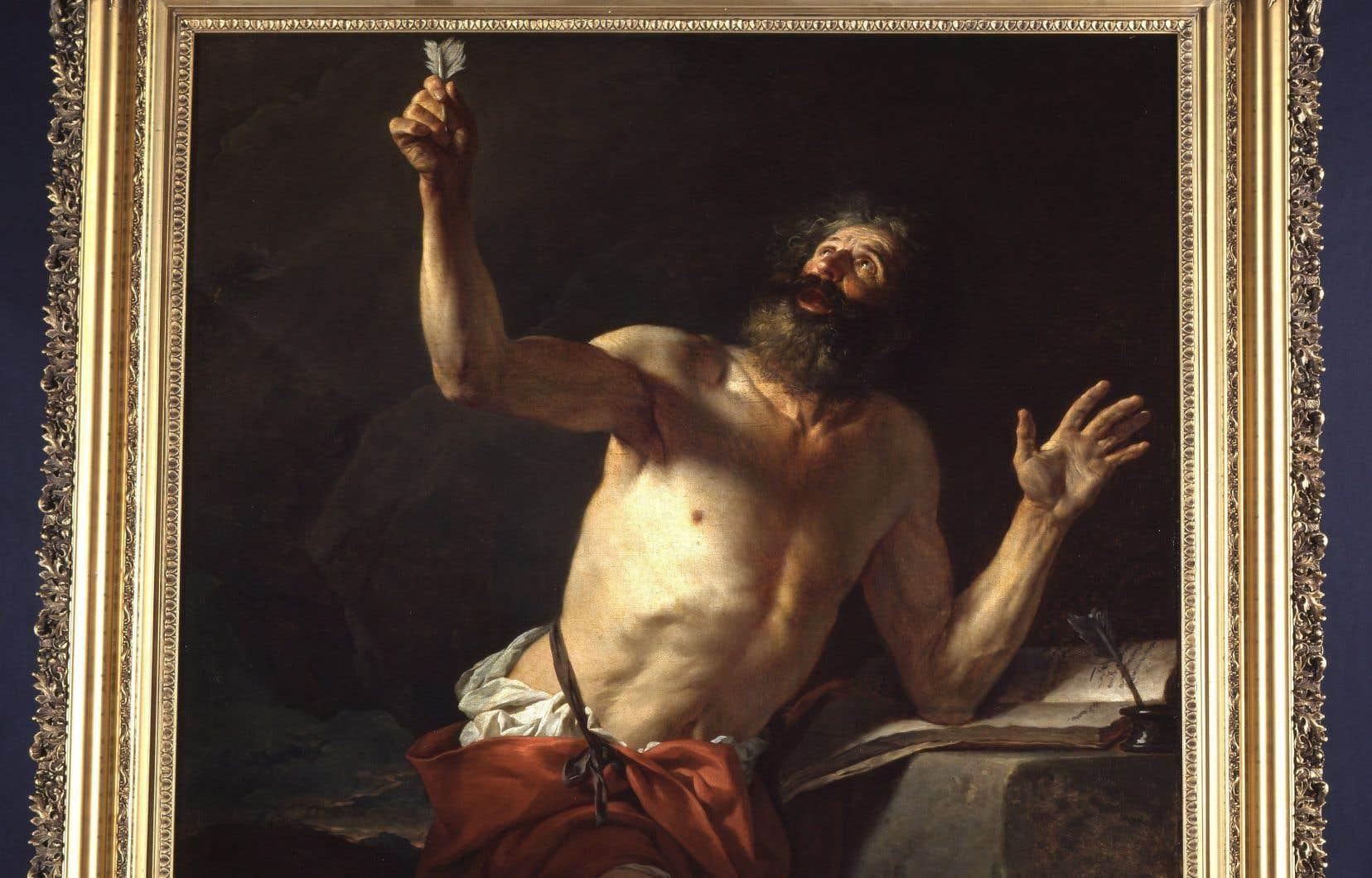 «Saint Jérôme», huile sur toile de Jacques-Louis David
