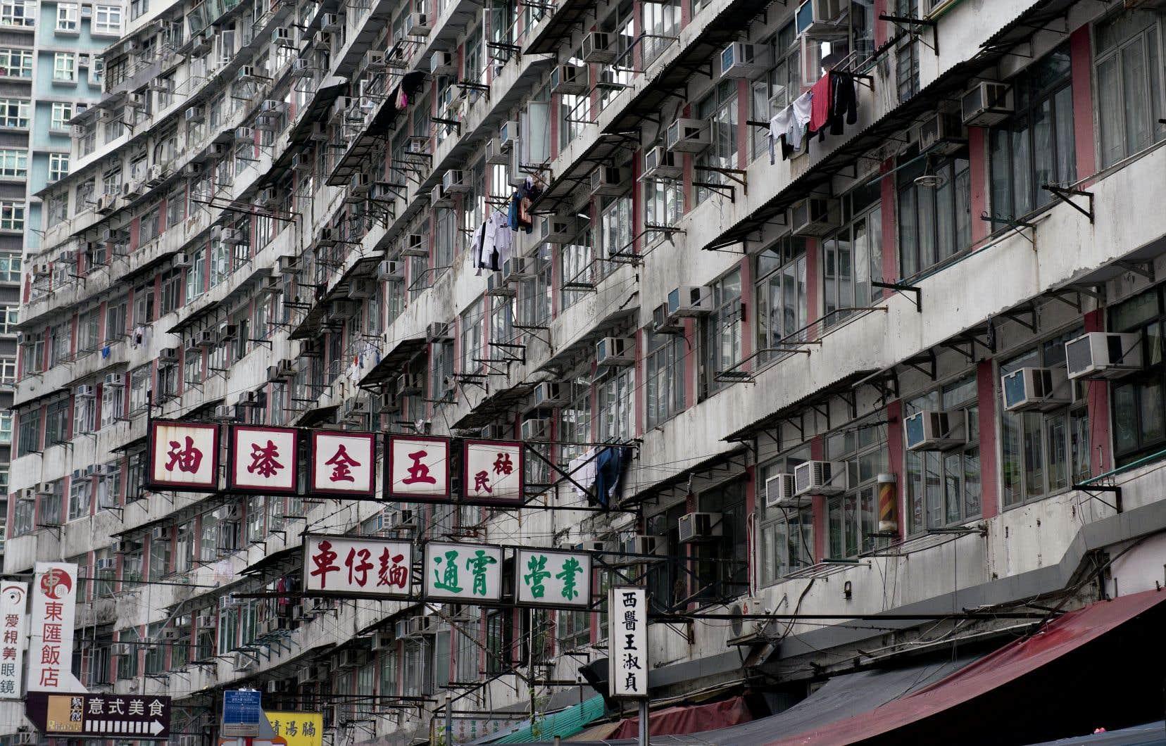 Le mètre carré à HongKong est l'un des plus chers du monde.