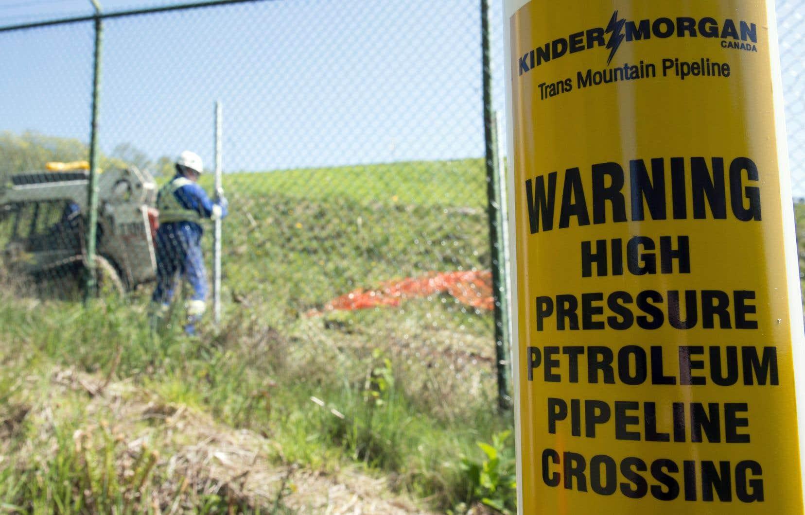 L'expansion du pipeline Trans Mountain ferait passer la capacité quotidienne de transport de 300000 barils à 890000 barils.
