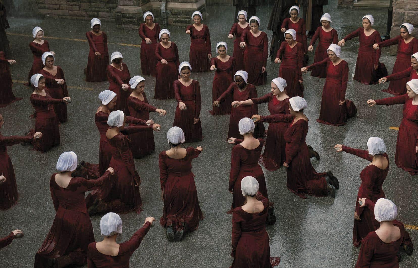 Une scène de la deuxième saison de «The Handmaid's Tale»