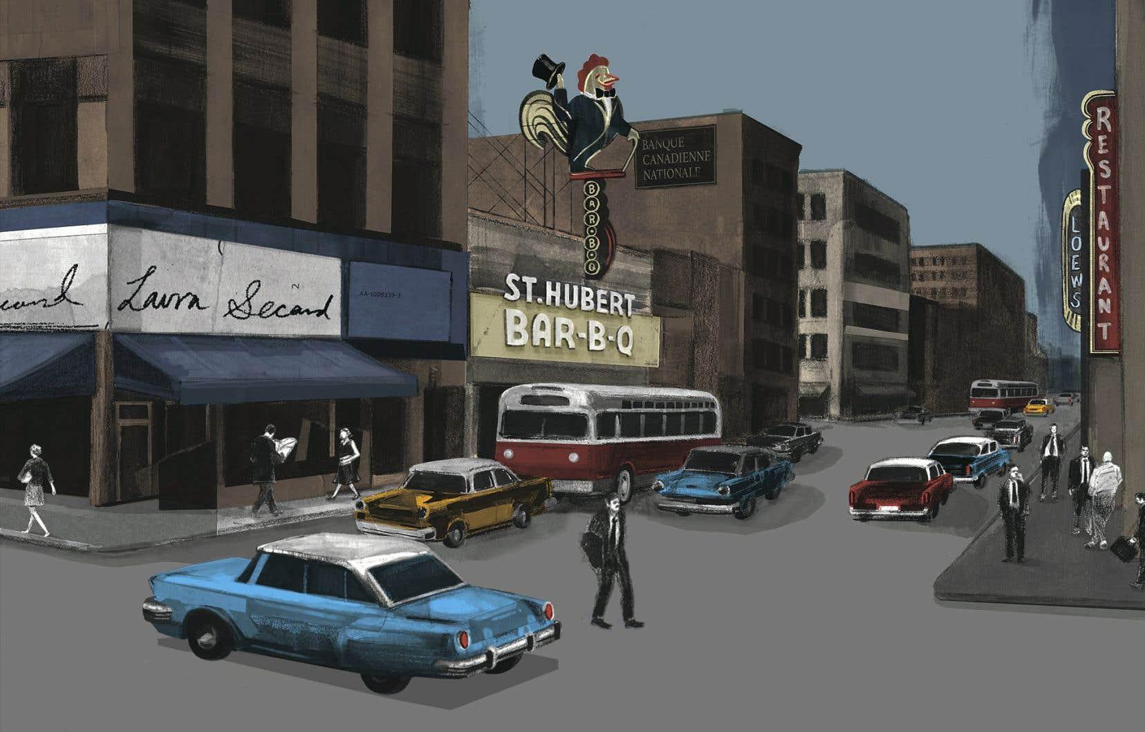 «Hockey noir» est dans une certaine mesure la continuation de l'«opéra bande dessinée» «Les aventures de Madame Merveille», créé par l'ECM + en 2011.