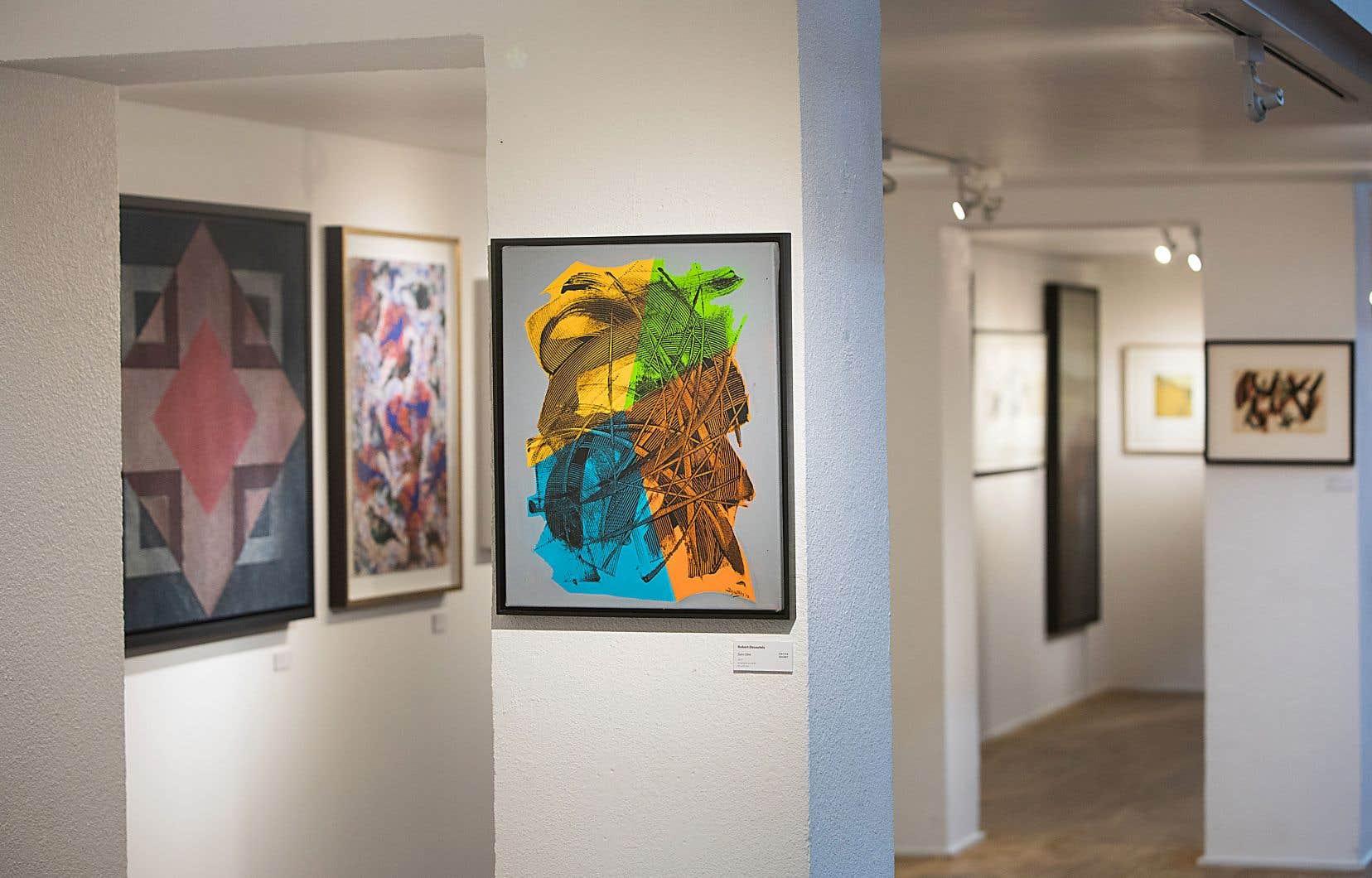 Les œuvres les plus anciennes remontent à la fin des années 1950. Et on a fait une belle place aux artistes des années 1960 et 1970, mais l'art d'aujourd'hui est bien présent.