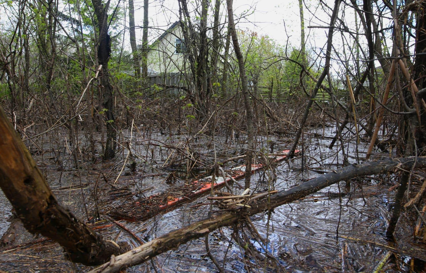 Plusieurs municipalités québécoises avaient connu d'importantes inondations au printemps dernier.
