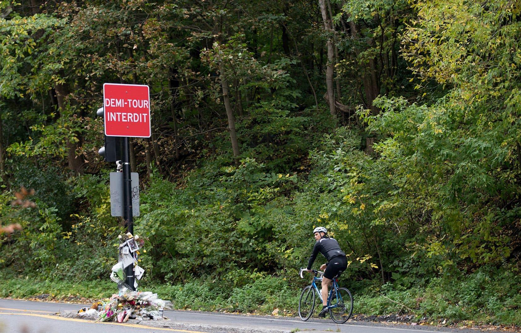Le 4octobre dernier, le jeune cycliste de 18ans Clément Ouimet a perdu la vie dans une collision avec un véhicule sur la voie Camillien-Houde.