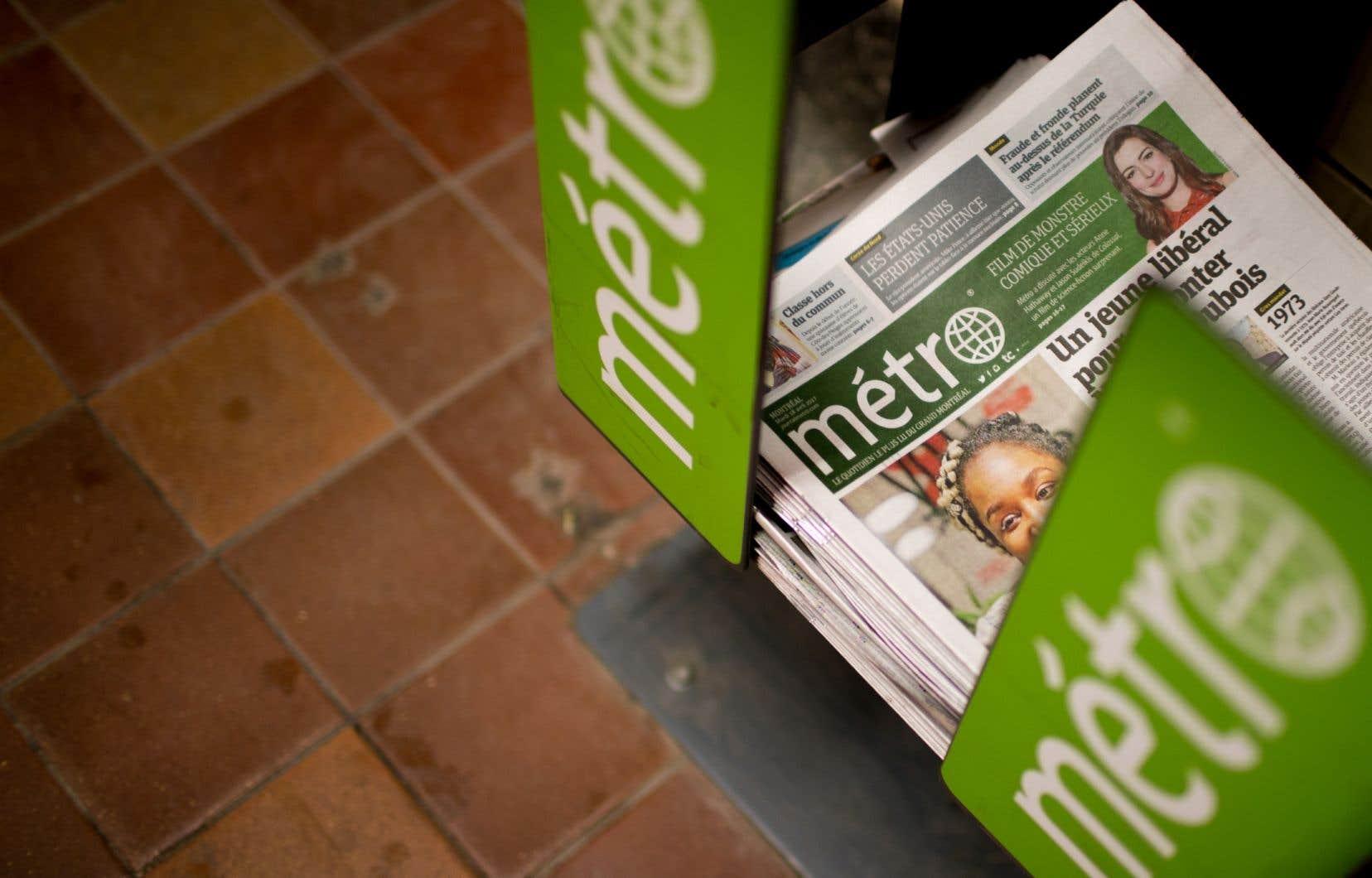 La transaction porte sur 21 journaux hebdomadaires de la région de Montréal, le quotidien gratuit «Métro» de Montréal et 8 publications de la région de Québec.