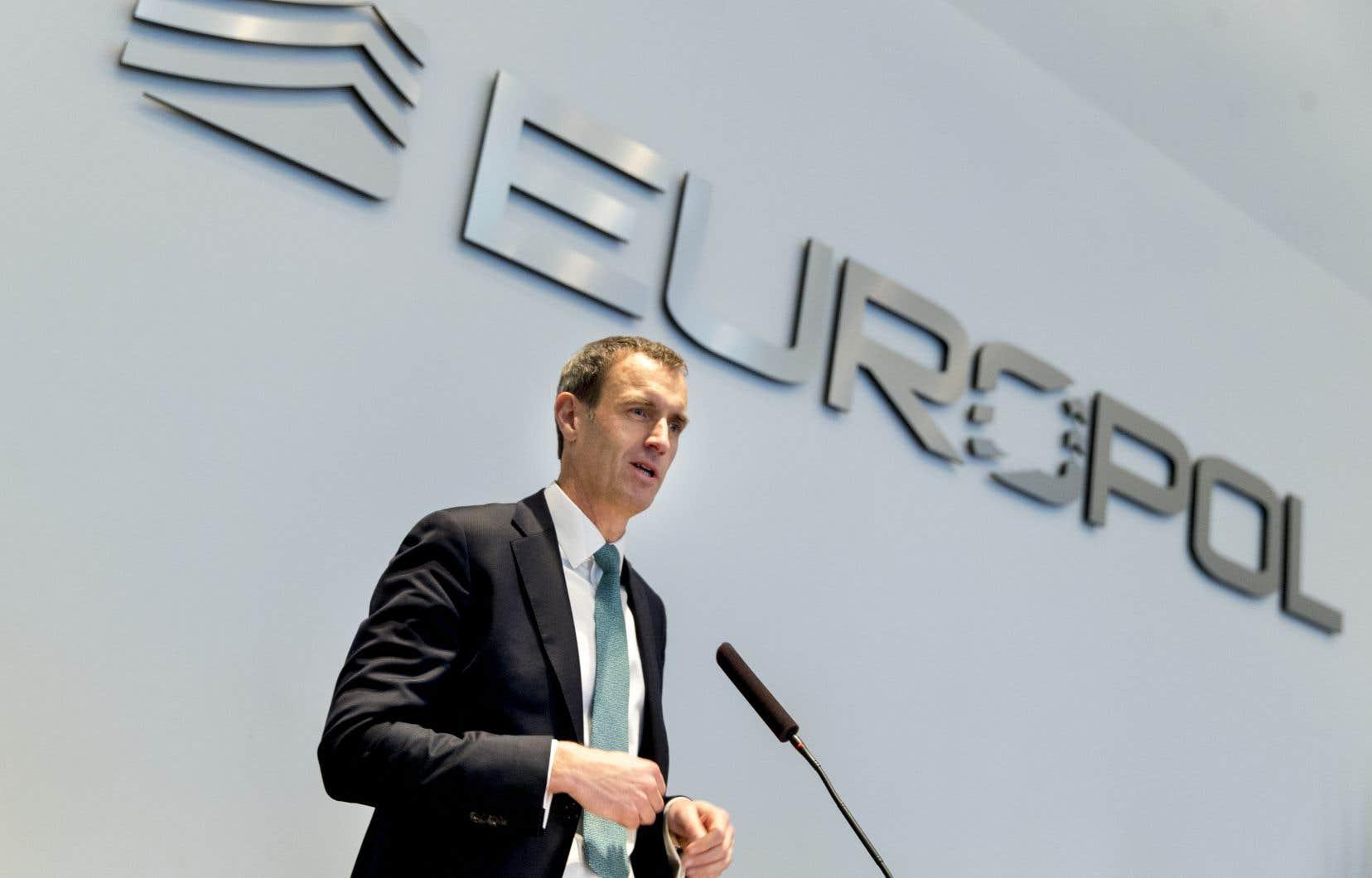 Le chef de l'agence européenne de police Europol, Rob Wainwright