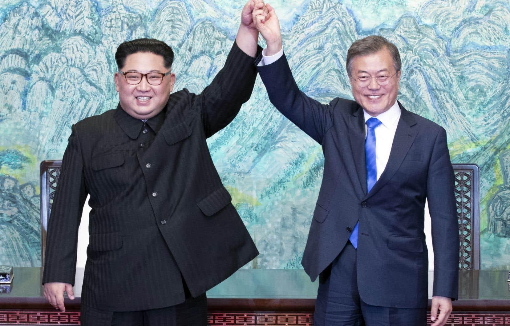 Kim Jong-un est le premier dirigeant nord-coréen à se rendre dans la république démocratique méridionale.
