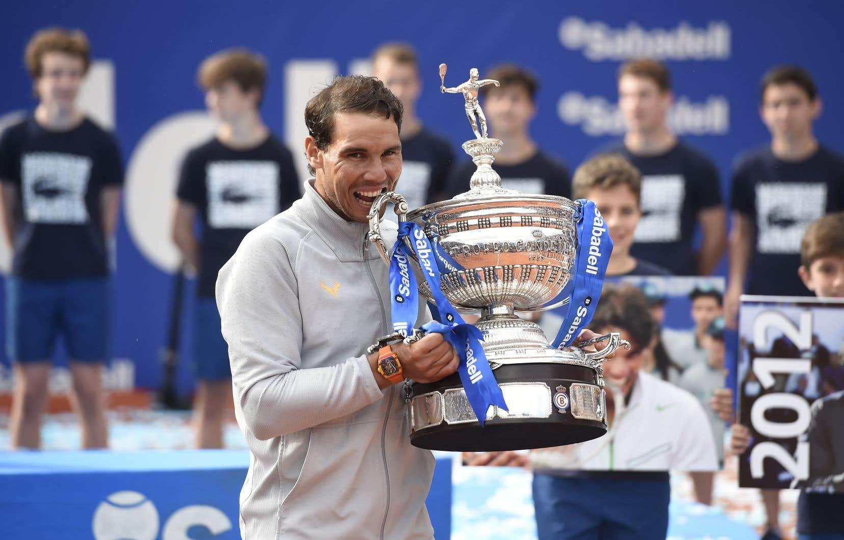Nadal essaiera de remporter un onzième trophée à Roland-Garros au mois de juin.