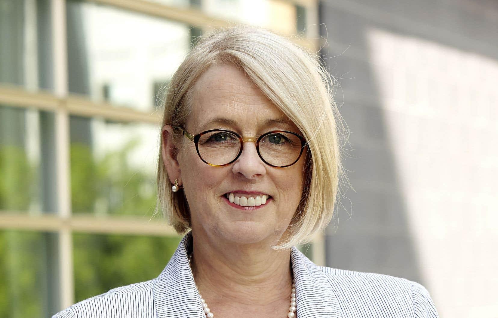 Johanne Jean, présidente de l'UQ
