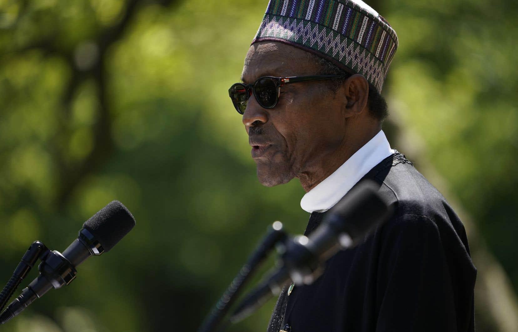 La lutte contre le mouvement djihadiste a été au coeur de la rencontre entre le président nigérian, Muhammadu Buhari, et Donald Trump.
