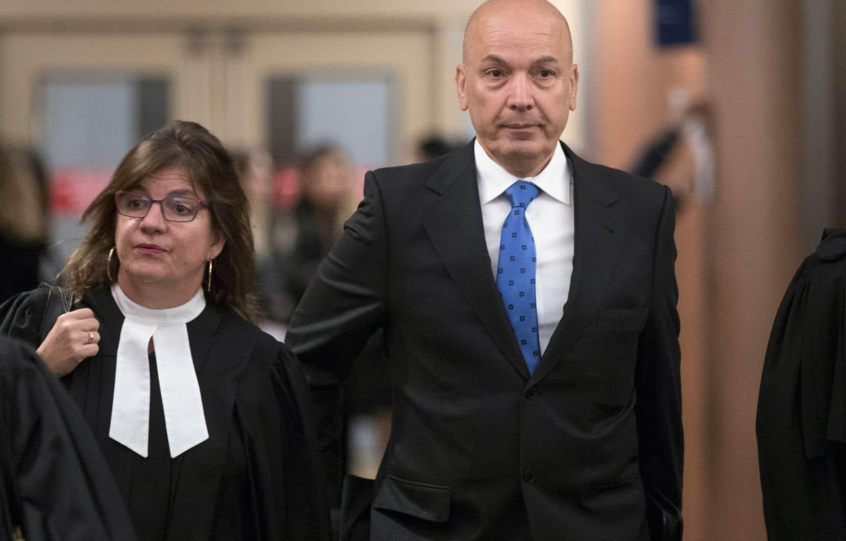 L'ancien président du comité exécutif de Montréal Frank Zampino a été blanchi des accusations qui pesaient contre lui.