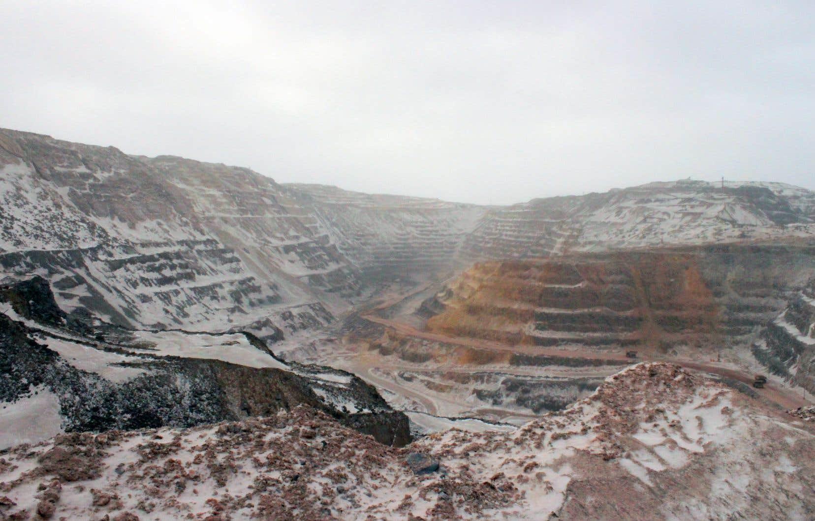 ArcelorMittalexploite déjà une mine près de Fermont, dont les différentes fosses devraient à terme atteindre une superficie totale de 11,3 kilomètres carrés.