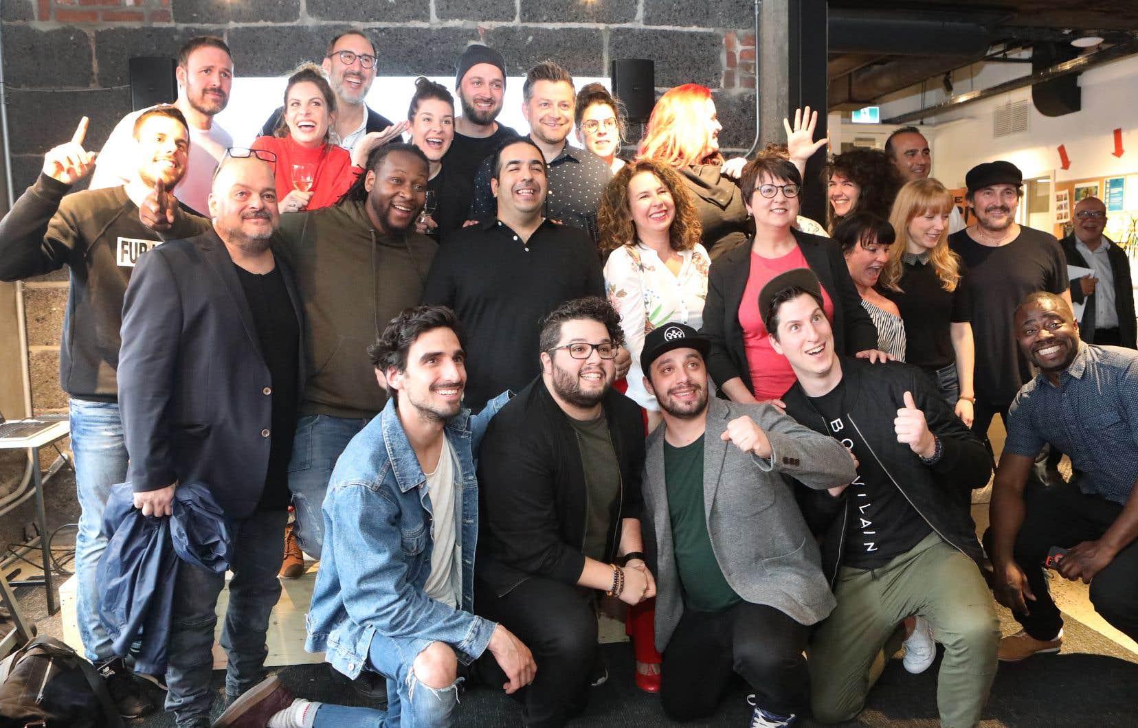 Le Grand Montréal comédie fest lancera sa première édition avec une grande fête rassemblant 100 humoristes au Théâtre Olympia.