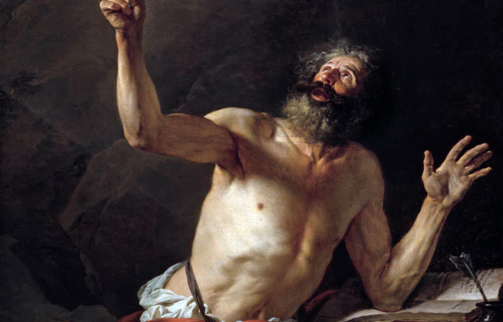 Le «Saint Jérôme» de Jacques-Louis David