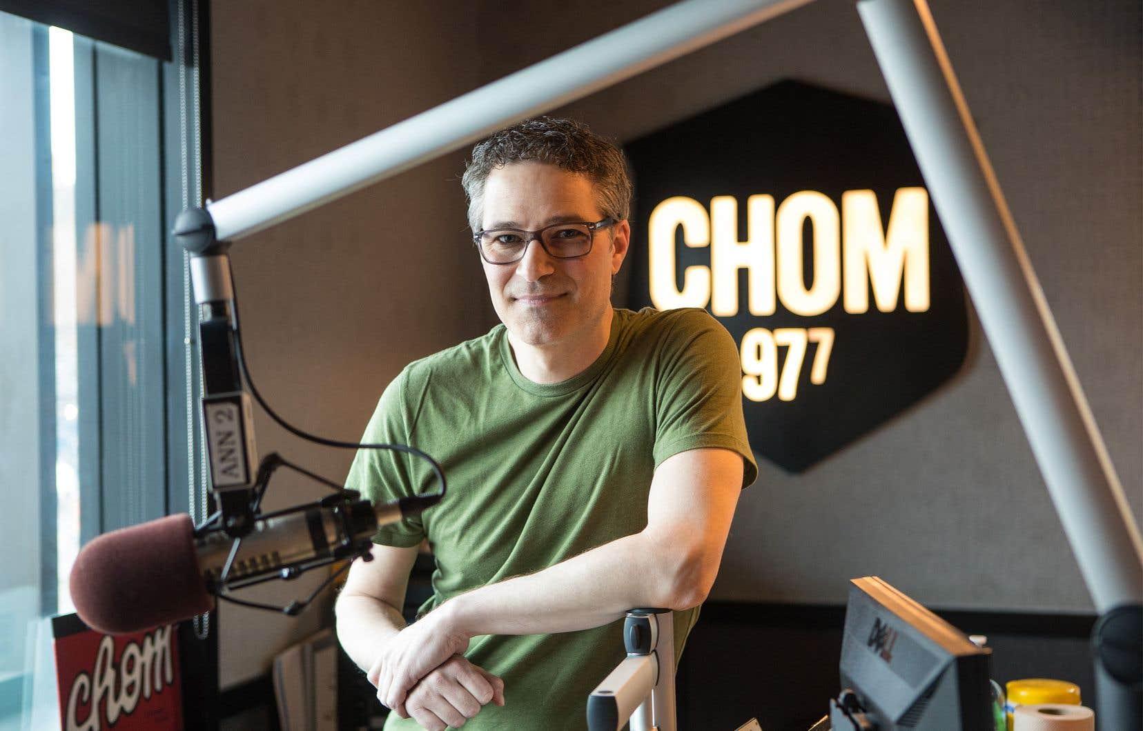 Pierre Landry, directeur musical de la station consacrée au rock