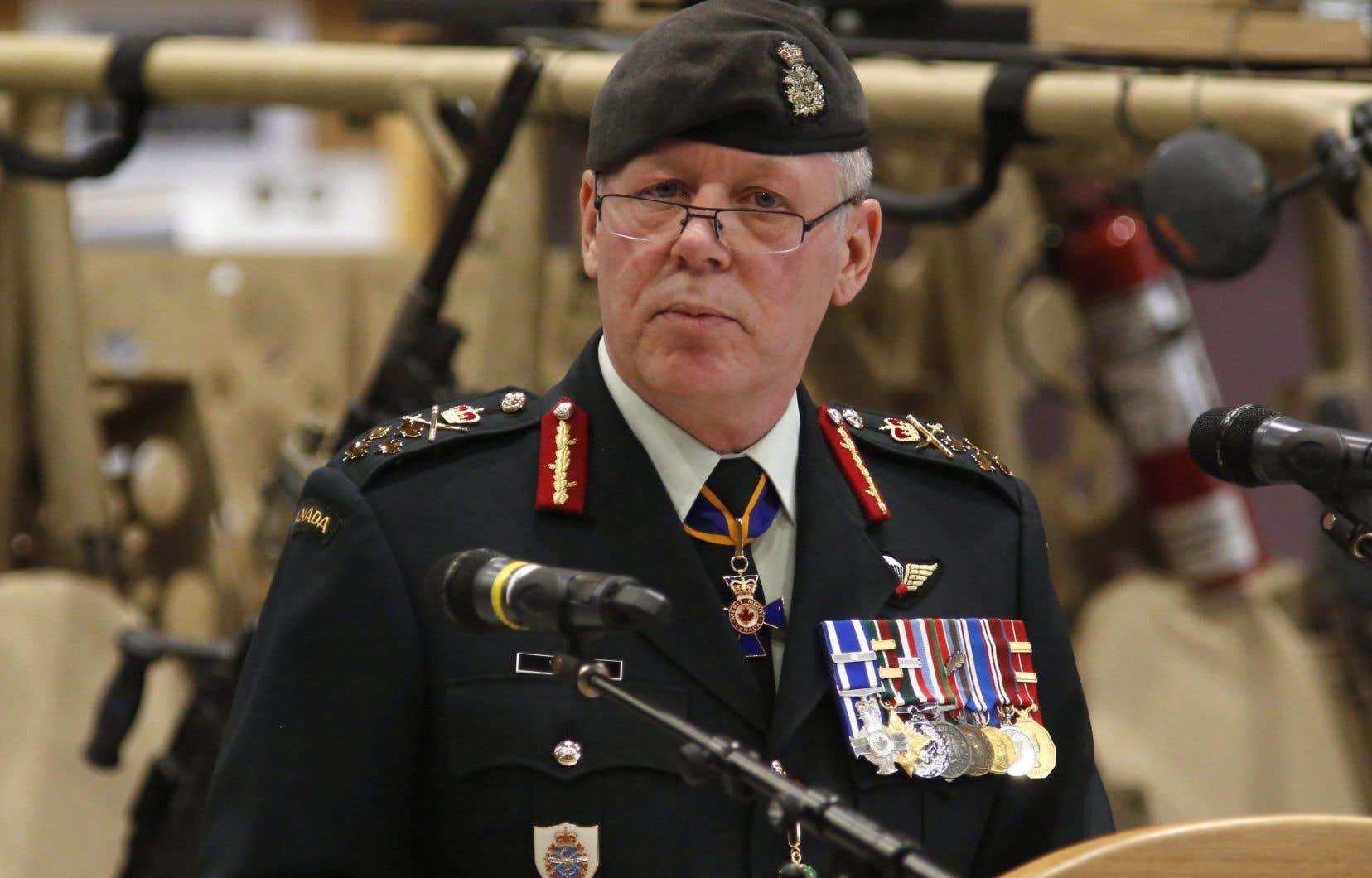 Le chef d'état-major de la défense, Jonathan Vance