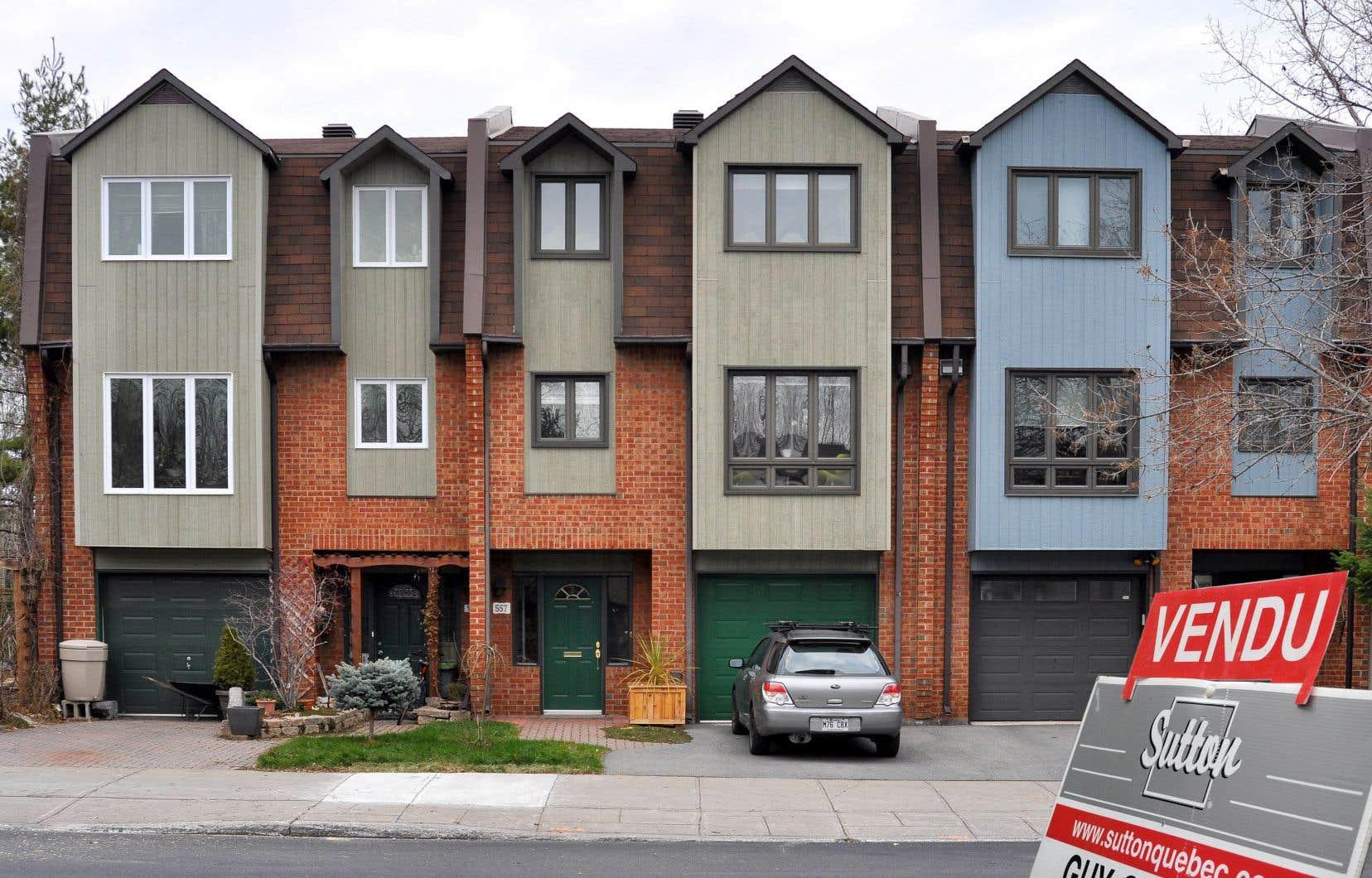 Selon la CIGM, 5432 propriétés ont changé de mains au cours du mois dernier.
