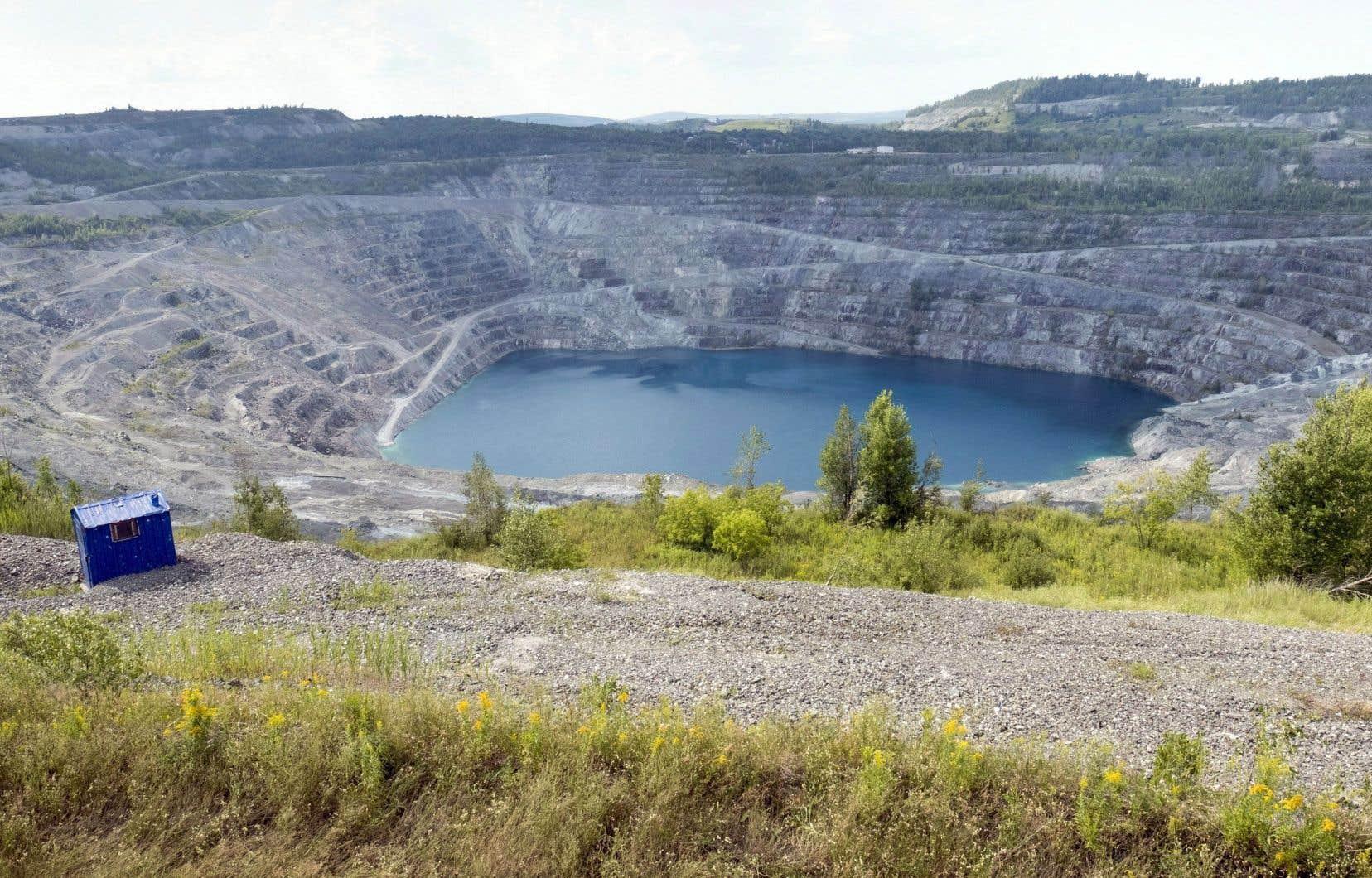 Le Québec compte 459 sites miniers abandonnés.