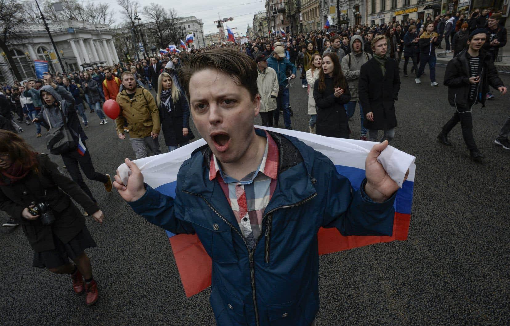 Ce week-end, plusieurs milliers de manifestants ont réclamé le départ de l'indéboulonnable Vladimir Poutine aux cris de «Nous ne voulons pas d'un tsar».
