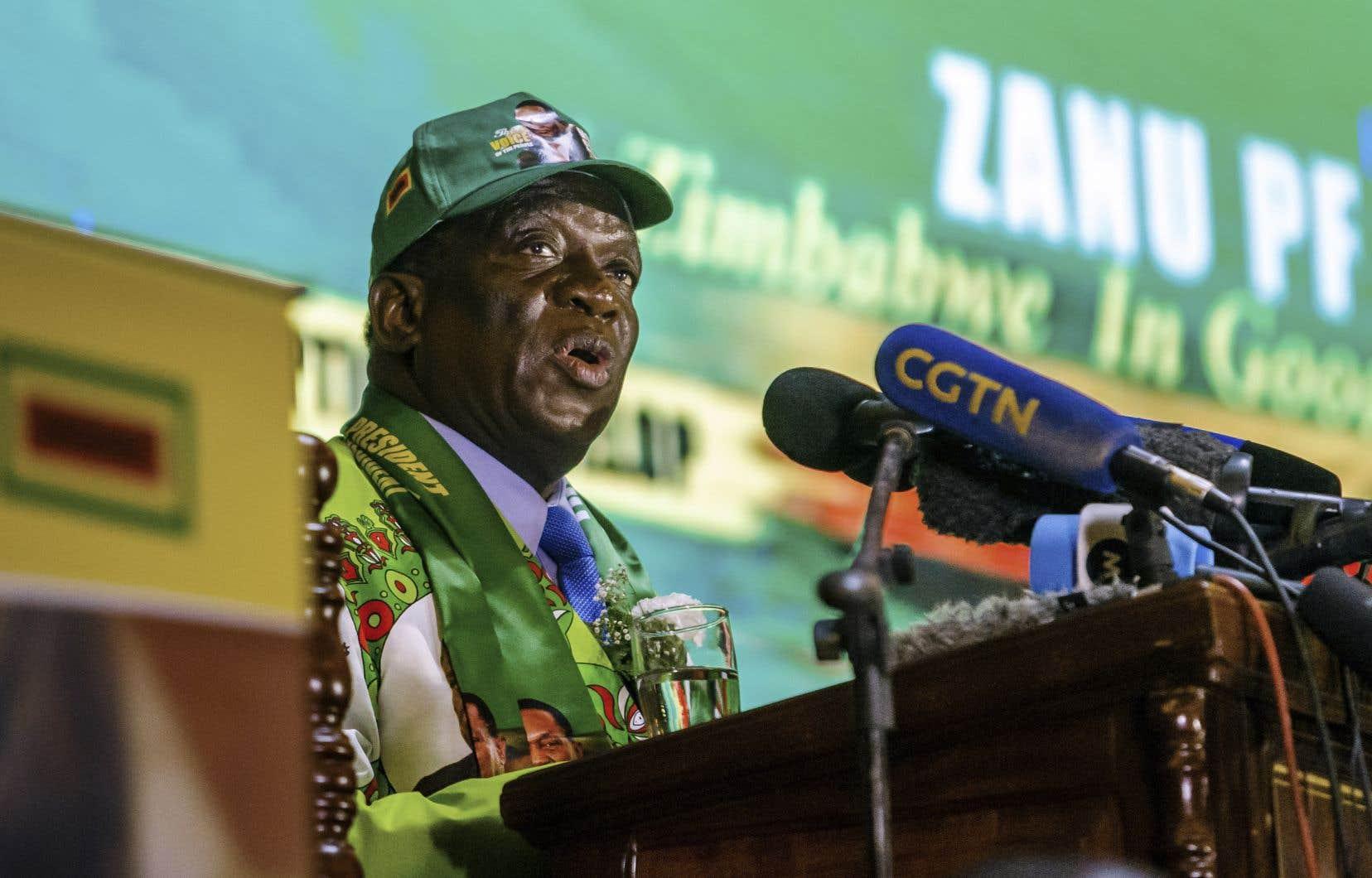 Emmerson Mnangagwa avait promis des réformes démocratiques lorsqu'il a pris le pouvoir.