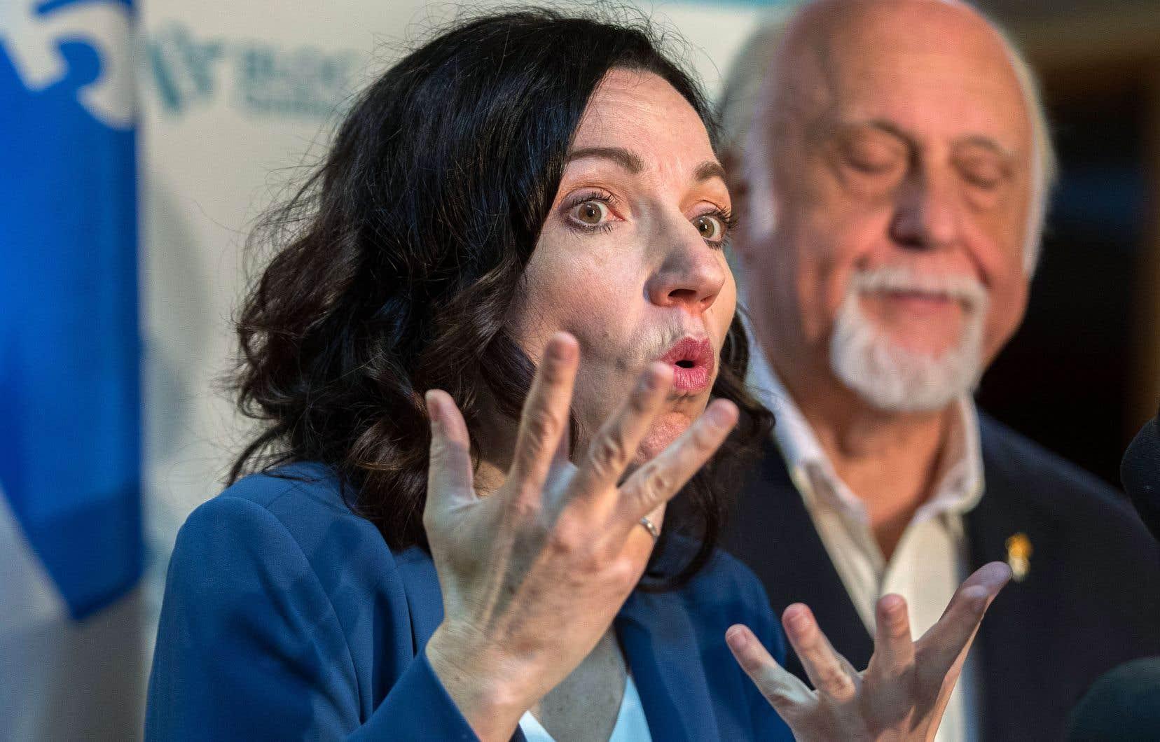 Martine Ouellet et Gilbert Paquette, qui siège maintenant au Bureau national du Bloc québécois à titre de vice-président