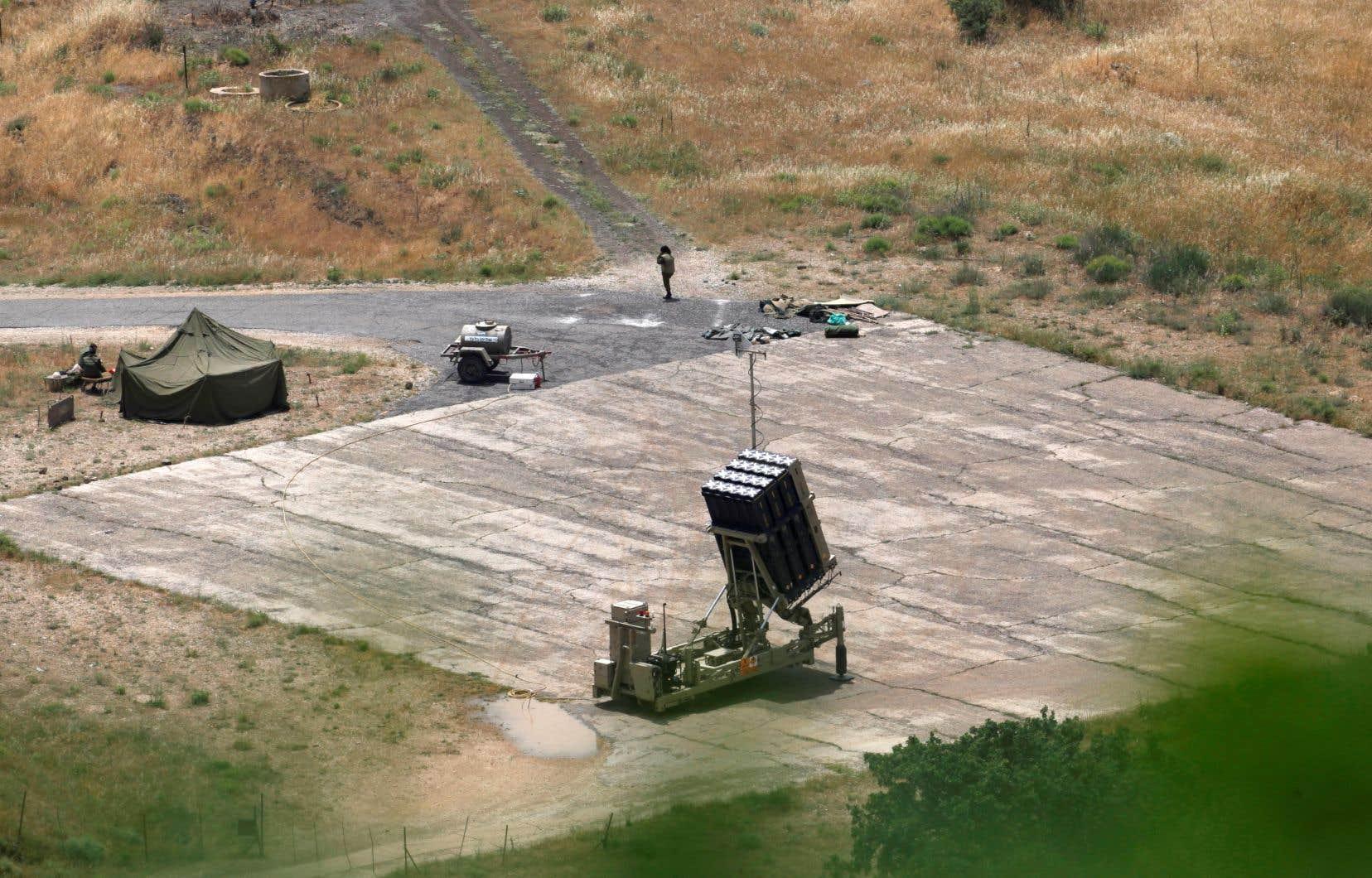 L'armée israélienne a indiqué mardi avoir demandé aux autorités locales du plateau du Golan occupé d'ouvrir et de préparer les abris antimissiles.