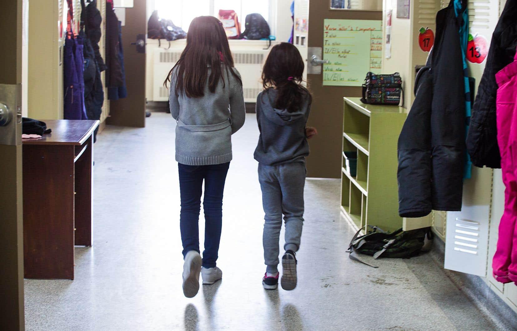 Les élèves du primaire ont parfois de la difficulté à reconnaître et à gérer les stress qu'ils vivent.