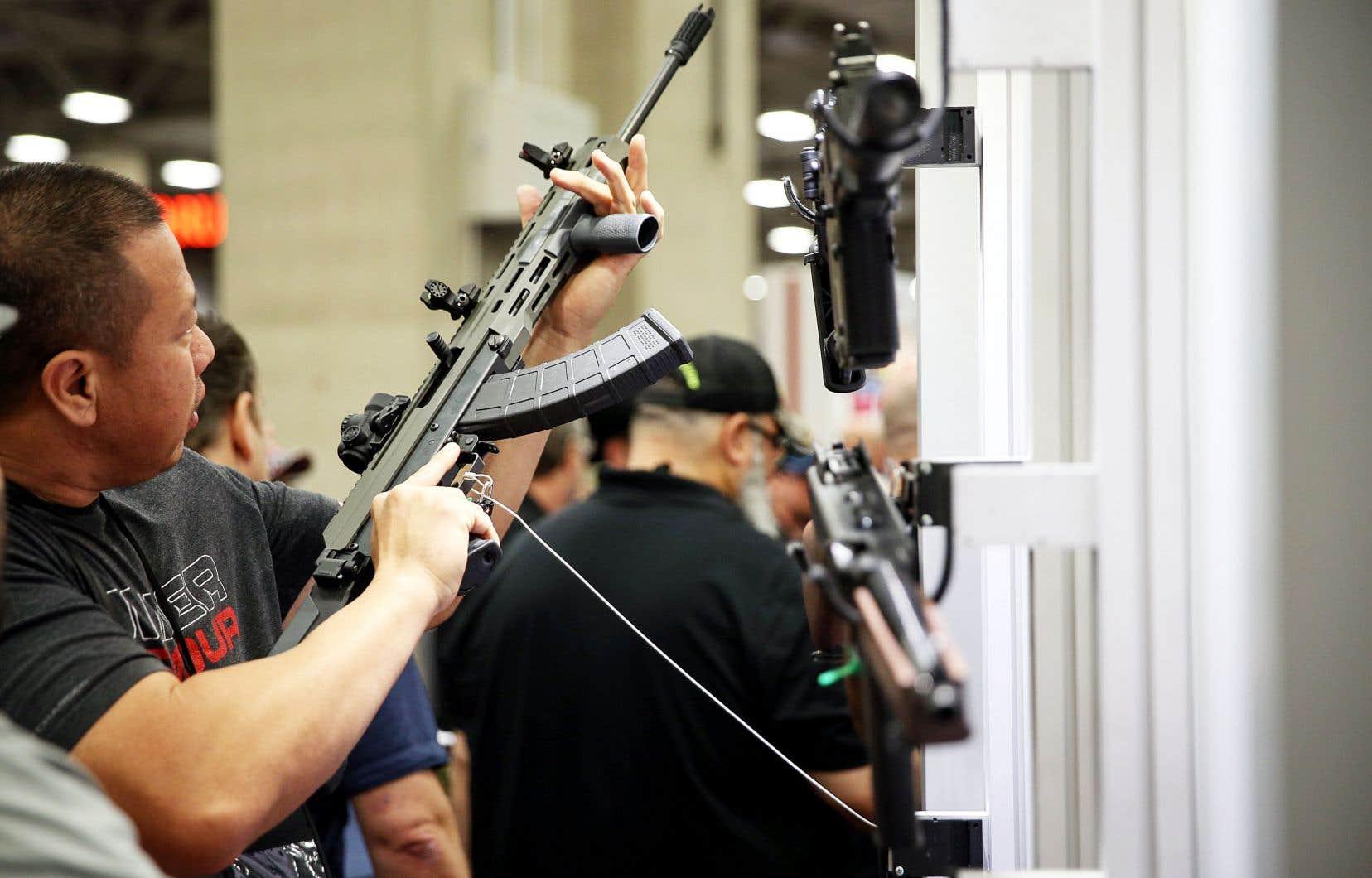 La puissante National Rifle Association tenait sa convention annuelle le 6mai dernier dans la ville de Dallas, au Texas.