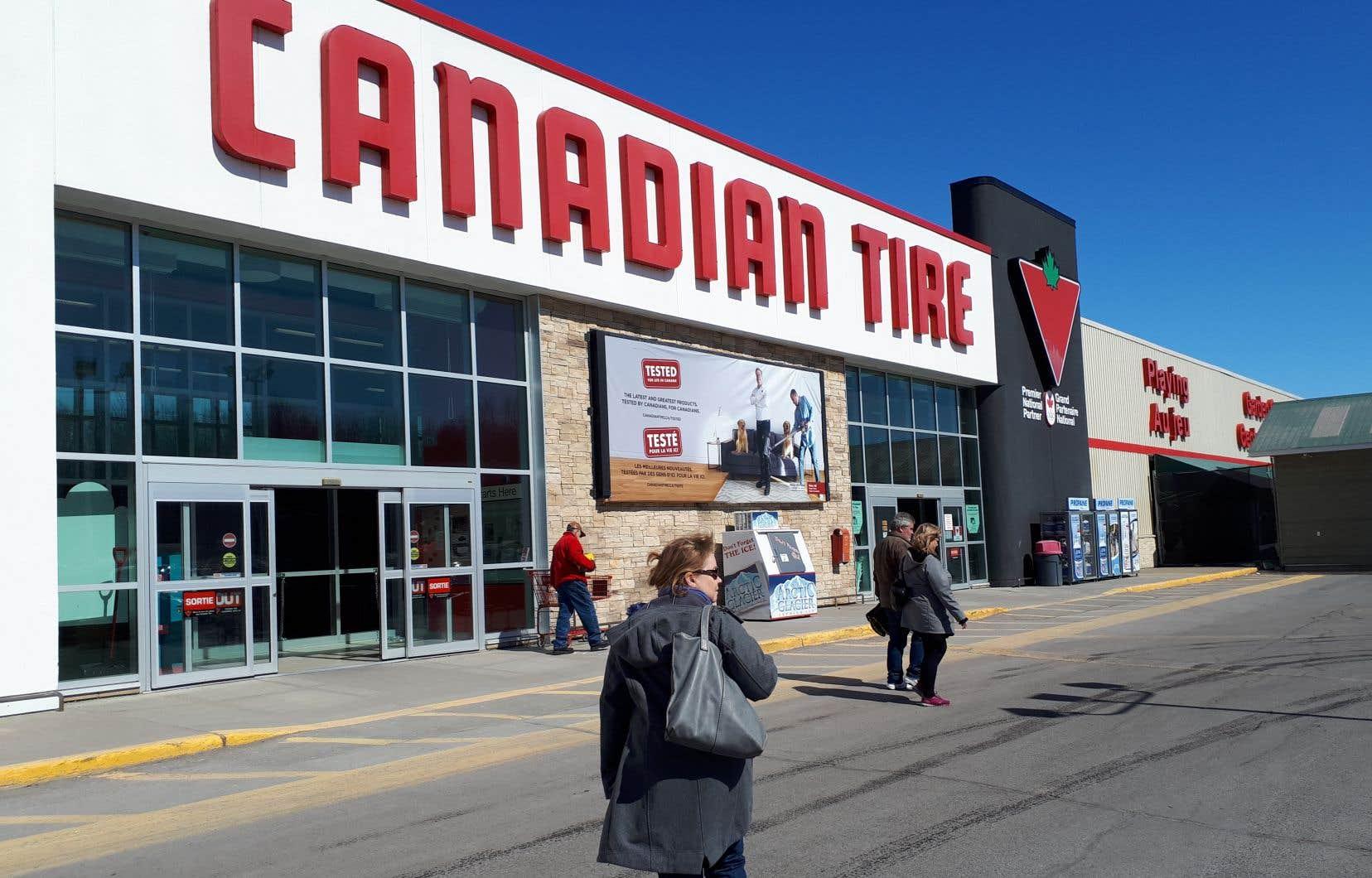 L'entreprise canadienne originaire de l'Ontario a rappelé que les vêtements de plein air et de travail constituent une de ses catégories principales.