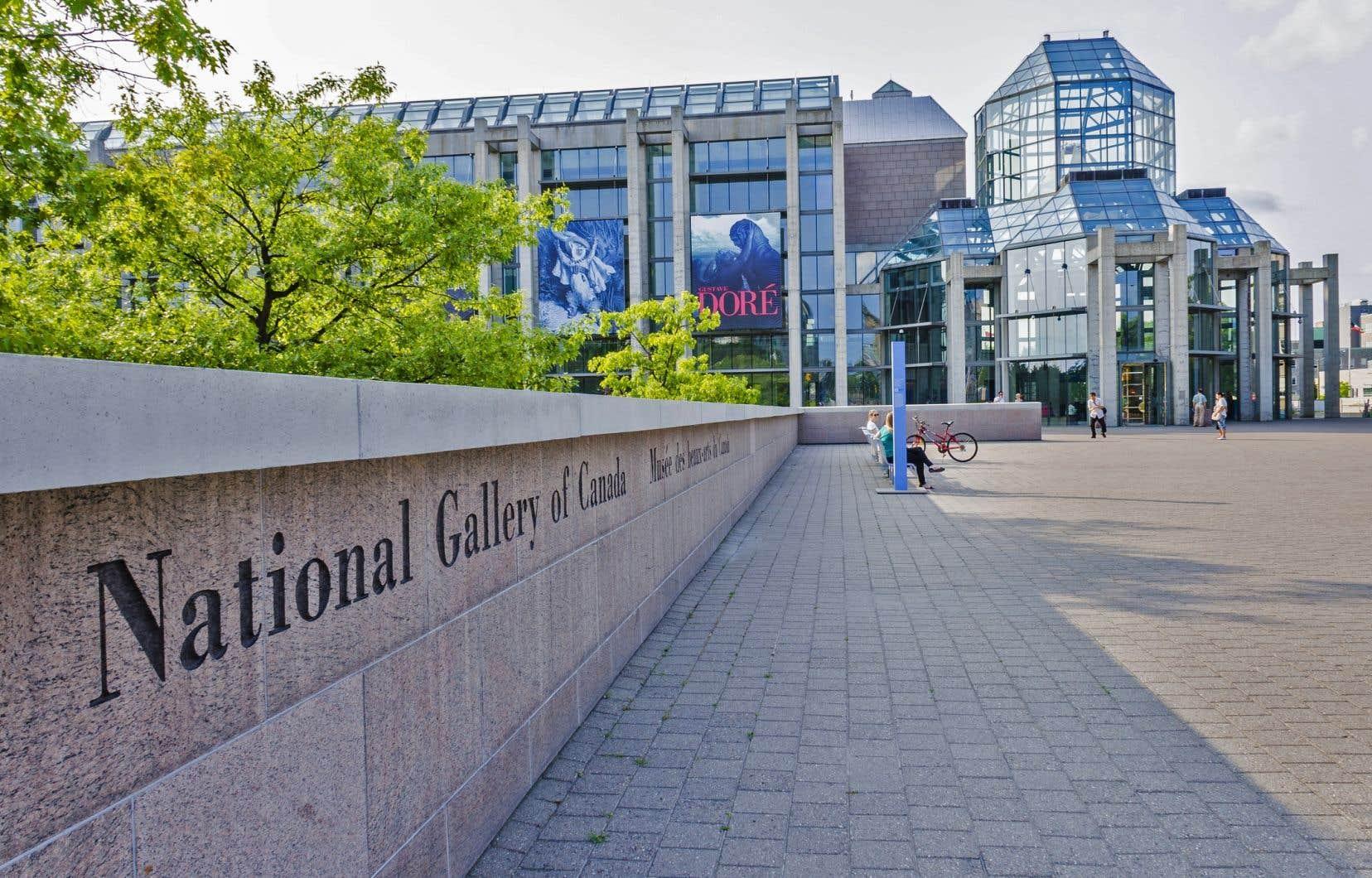 Le Musée des beaux-arts du Canada avait annoncé le mois dernier qu'il mettrait aux enchères <em>La tour Eiffel</em> de Marc Chagall.