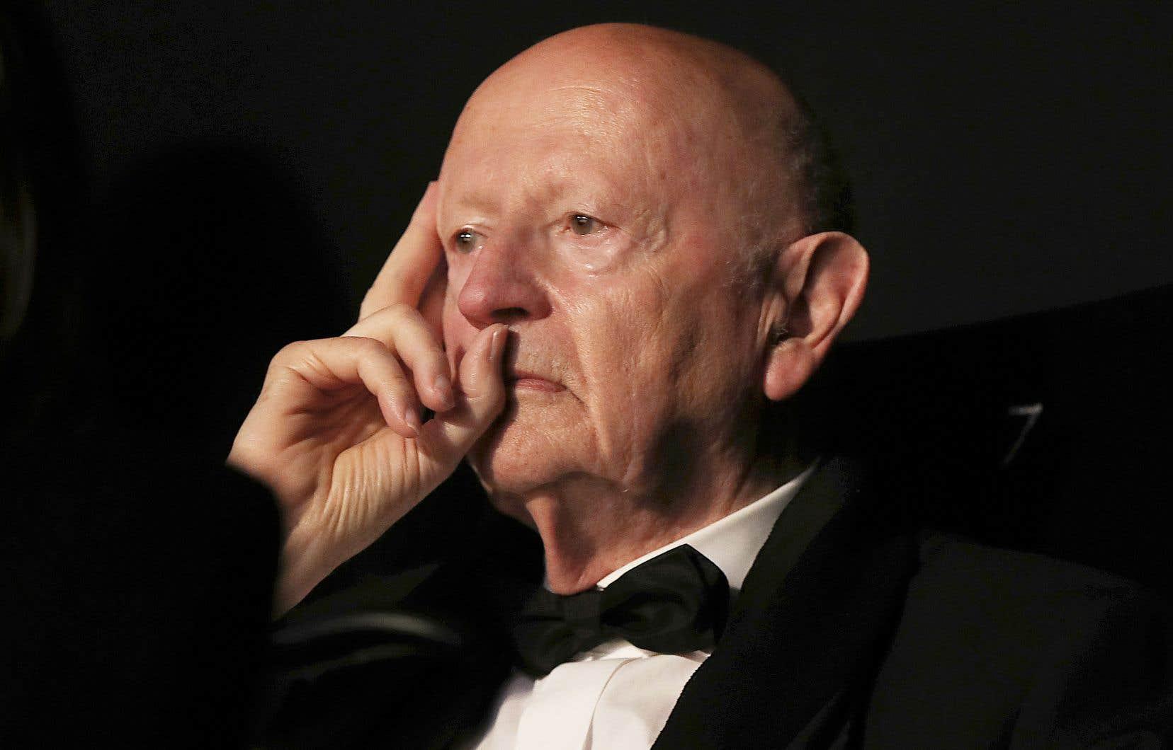 L'ex-président du Festival de Cannes, Gilles Jacob, à la 70e édition en 2017