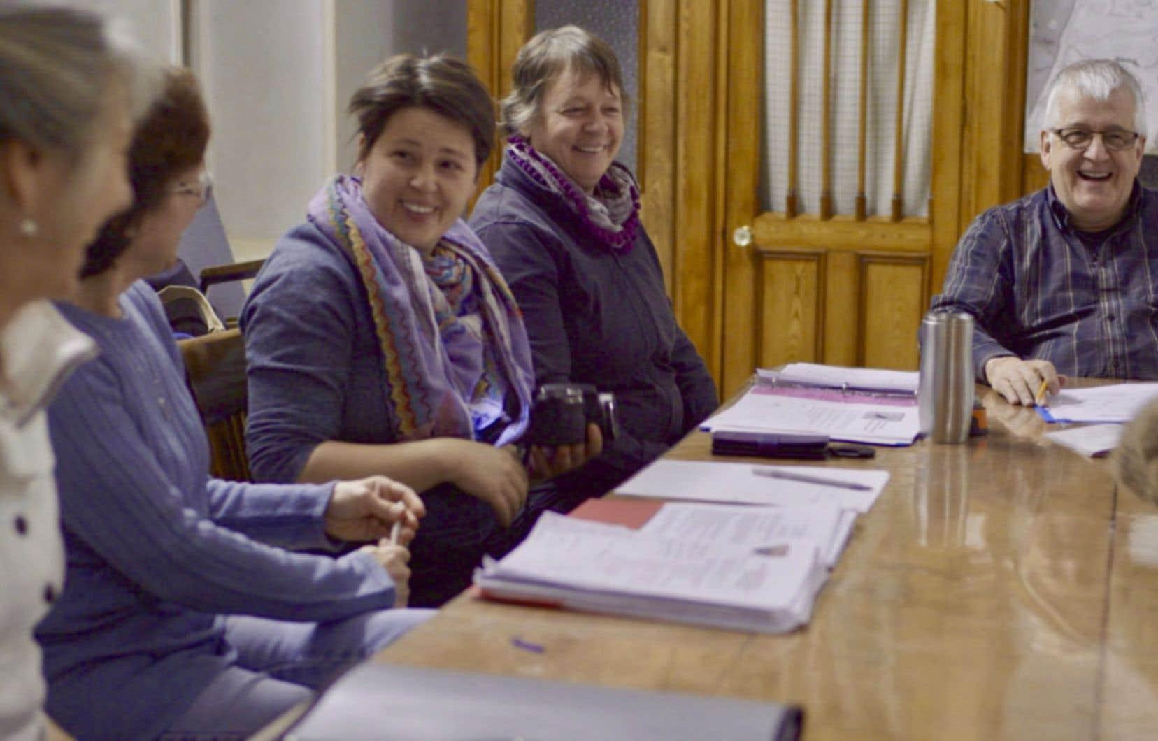 Réunion du comité de parrainage de Saint-Ubalde