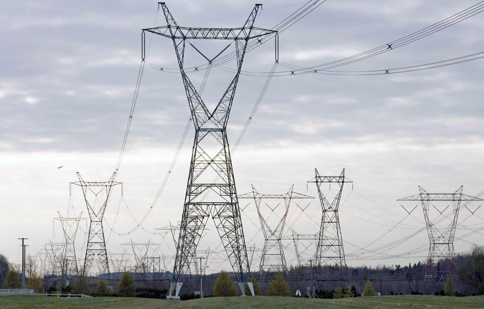 Les exportations nettes d'électricité d'Hydro-Québec Production ont crû de 15 millions pour s'établir à 486 millions.