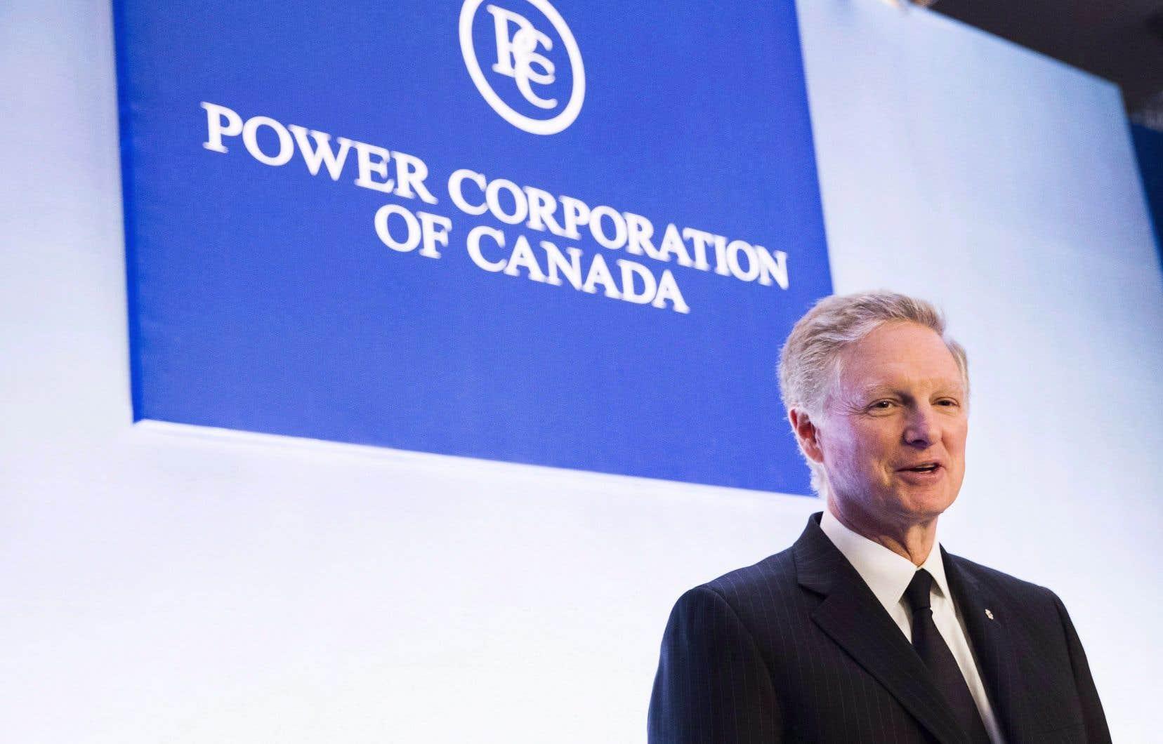 Power Corporation du Canada est un actionnaire indirect de LafargeHolcim et Paul Desmarais fils siège au conseil d'administration de l'entreprise.