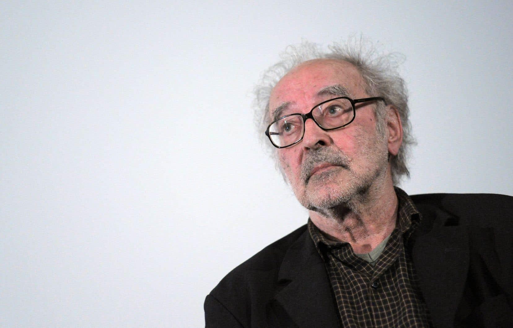 Le réalisateur Jean-Luc Godard, en 2010