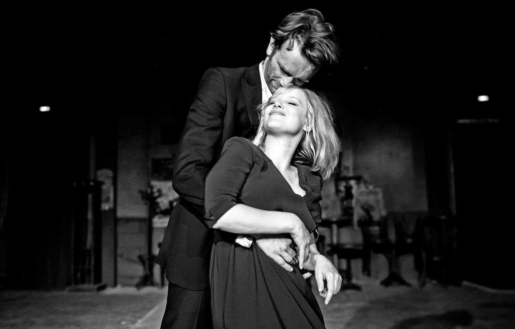 Les comédiens polonais Tomasz Kot et Joanna Kulig