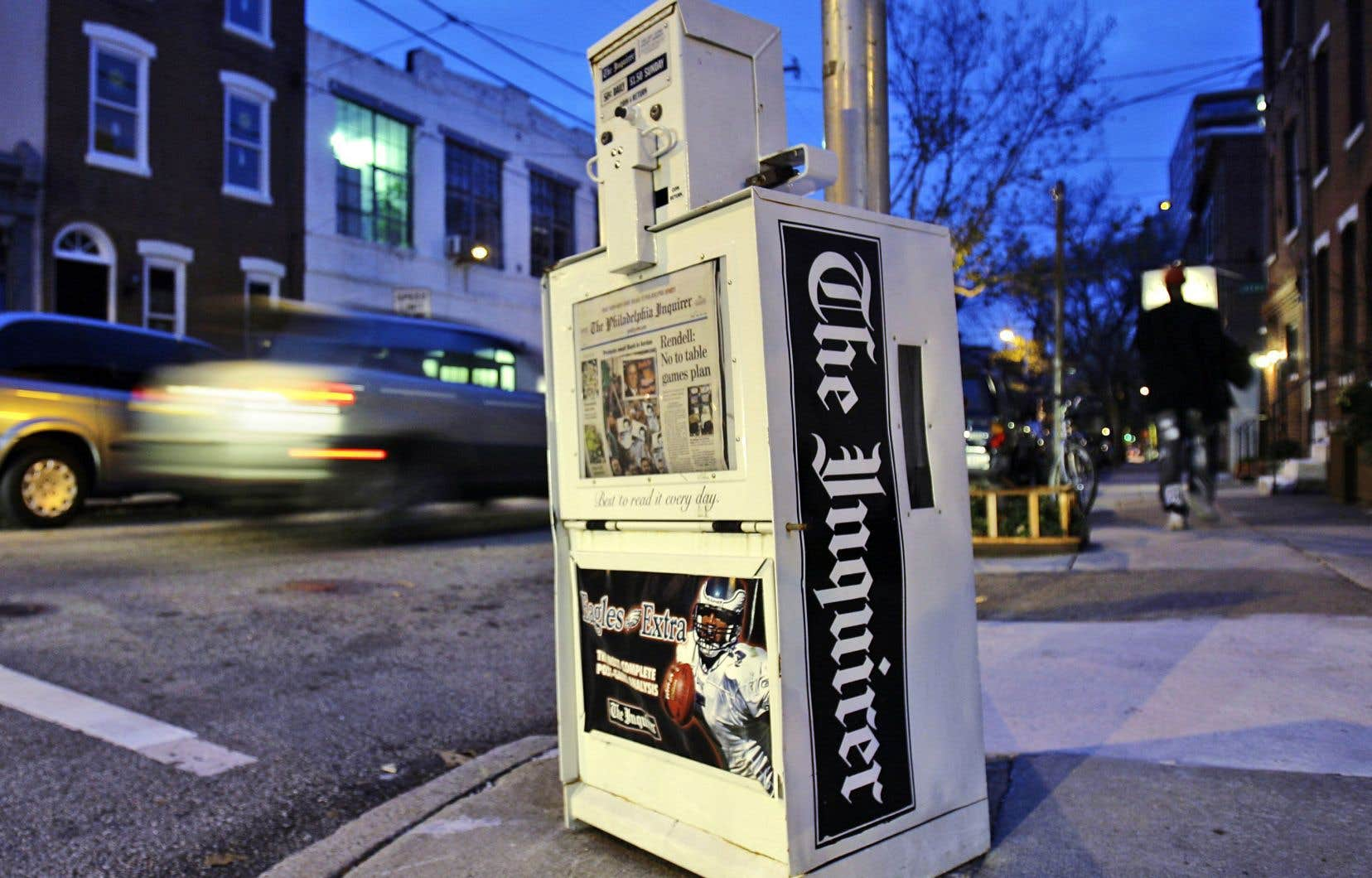 La première année de sa nouvelle structure en OBNL, le quotidien américain «Philadelphia Inquirer» a été rentable.
