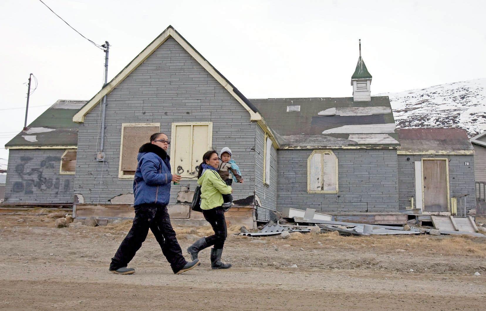 Le hameau nordique a autrefois affiché le plus haut taux de suicide du territoire. Jusqu'à récemment, on croyait que les mauvais jours de la petite communauté étaient passés.