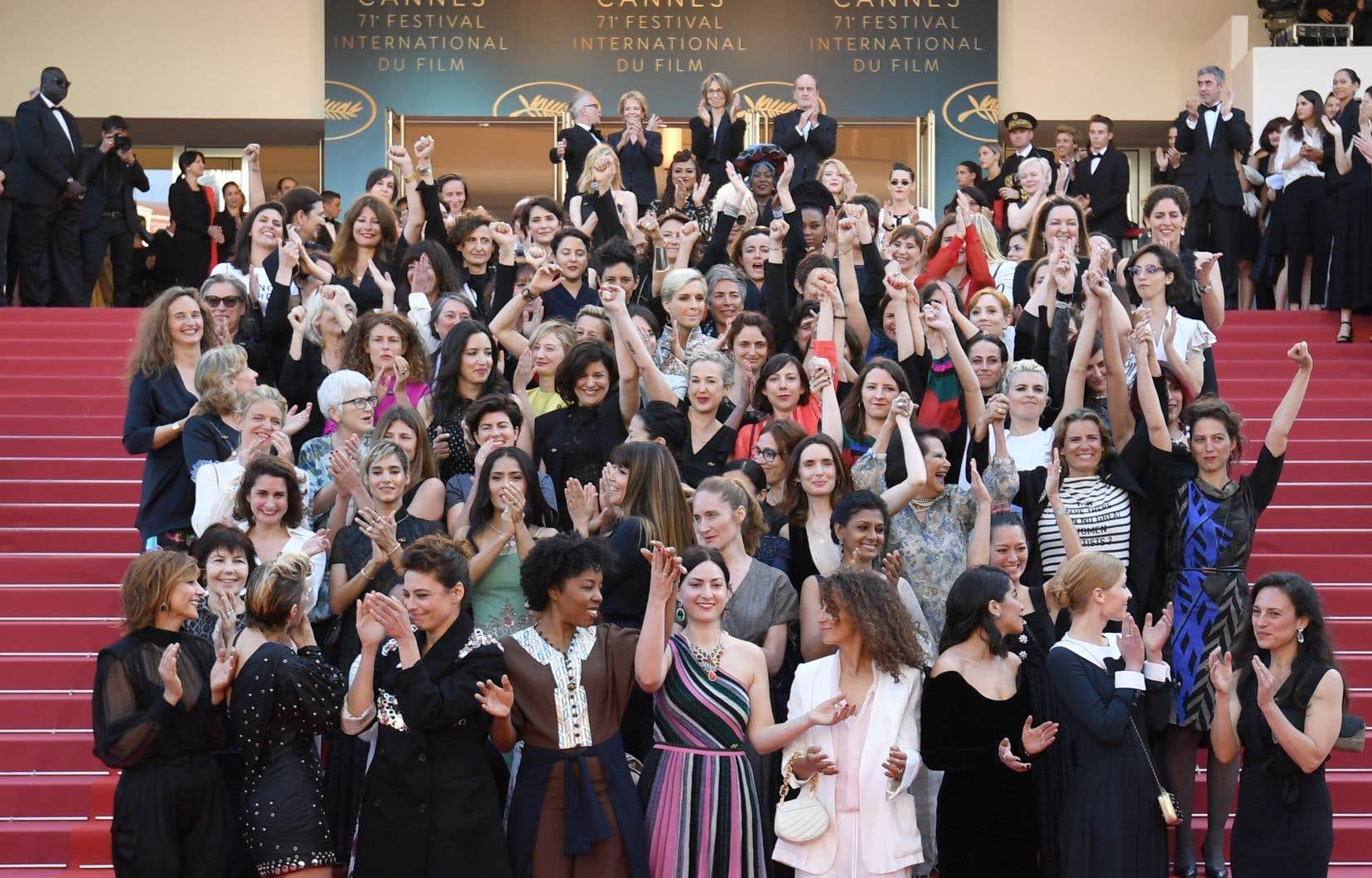 Le Festival de Cannes s'engage notamment à «rendre transparente la liste des membres des comités de sélection et programmateurs» pour «écarter toute suspicion de manque de diversité et de parité.»