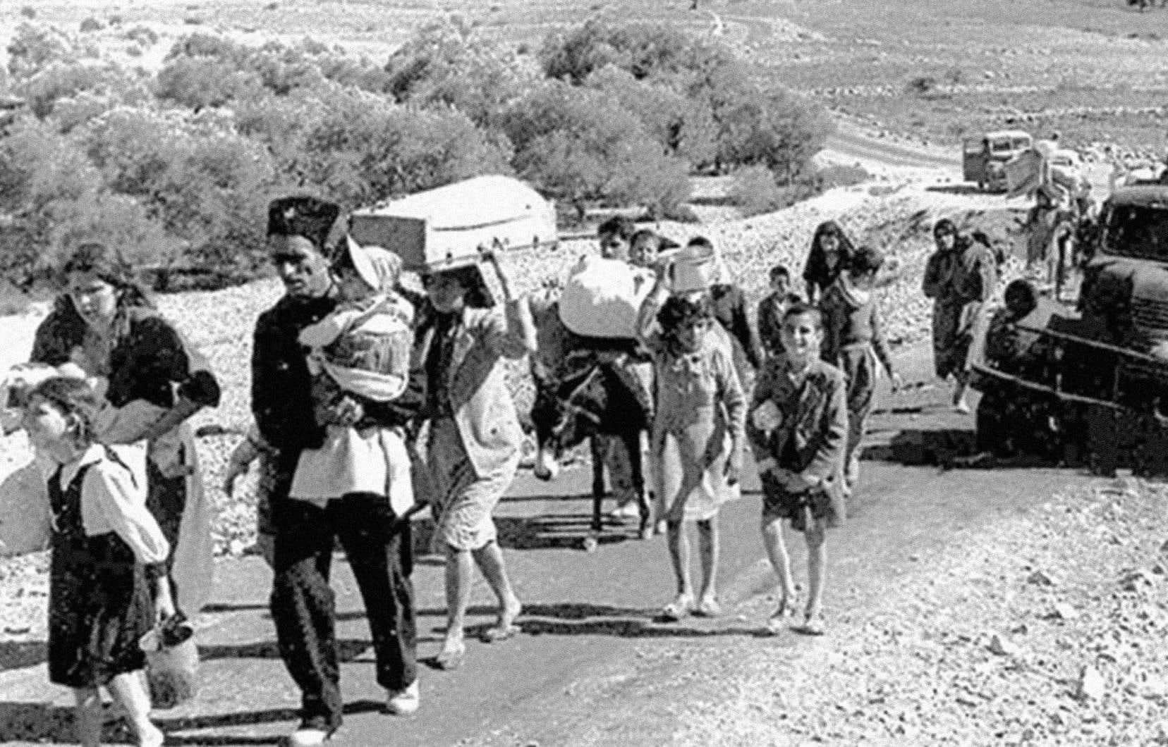 À Gaza, le souvenir de la Nakhba est d'autant plus prégnant que 70% de la population est constituée de réfugiés, souligne l'auteur.