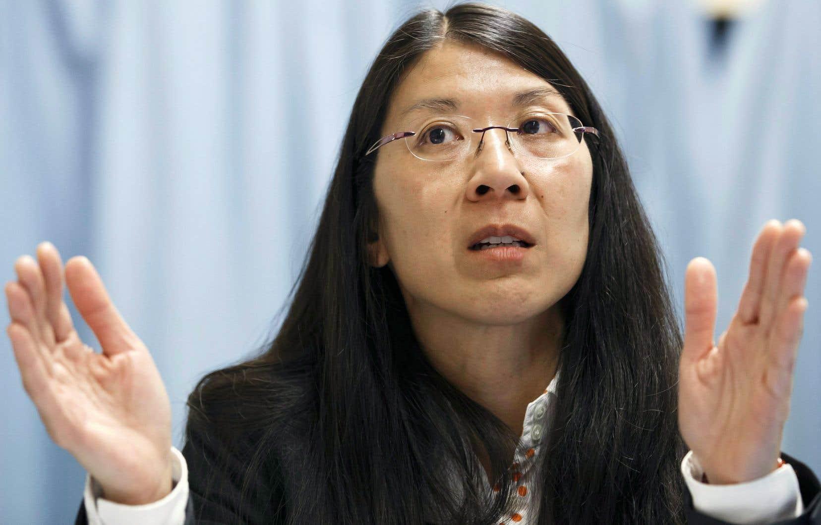 La présidente de Médecins sans frontières, la pédiatre urgentologue originaire de Québec Joanne Liu, s'est adressée à un auditoire réuni par le Conseil des relations internationales de Montréal (CORIM).