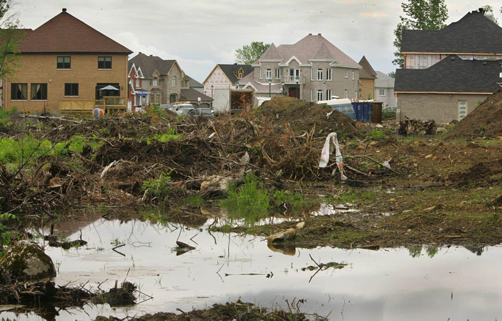 Les auteurs sont d'avis qu'«un réel aménagement durable intégré du territoire qui comprend la protection des milieux humides nécessite de revoir la façon de planifier nos villes».