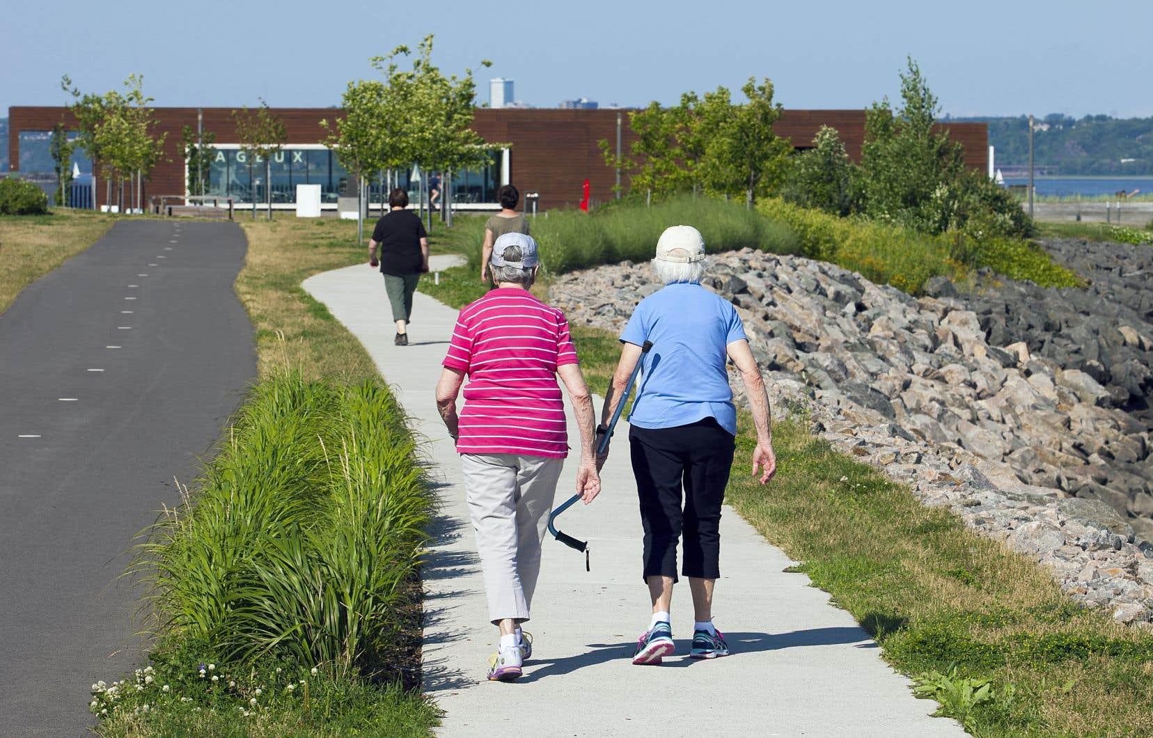 Selon des données, chez les femmes âgées, la participation sociale apparaît comme une variable importante pour se maintenir dans le profil des personnes en meilleure santé.