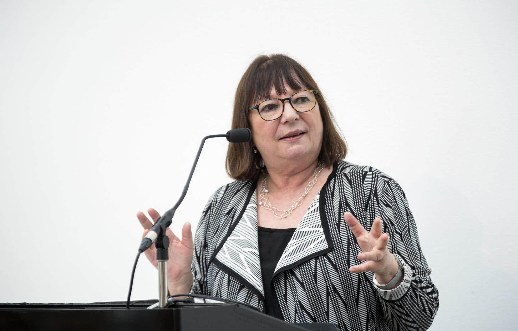 Monique Simard a récemment été nommée présidente du conseil d'administration du Fonds Québecor.