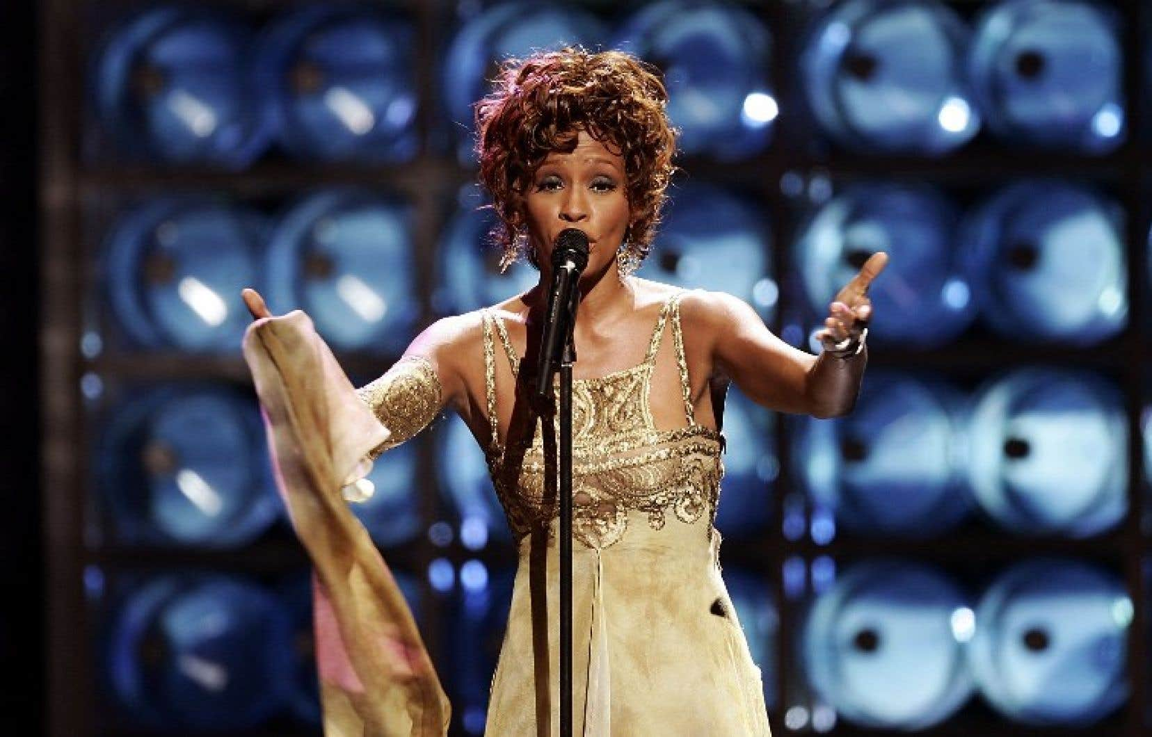 La chanteuse Whitney Houston, en 2004