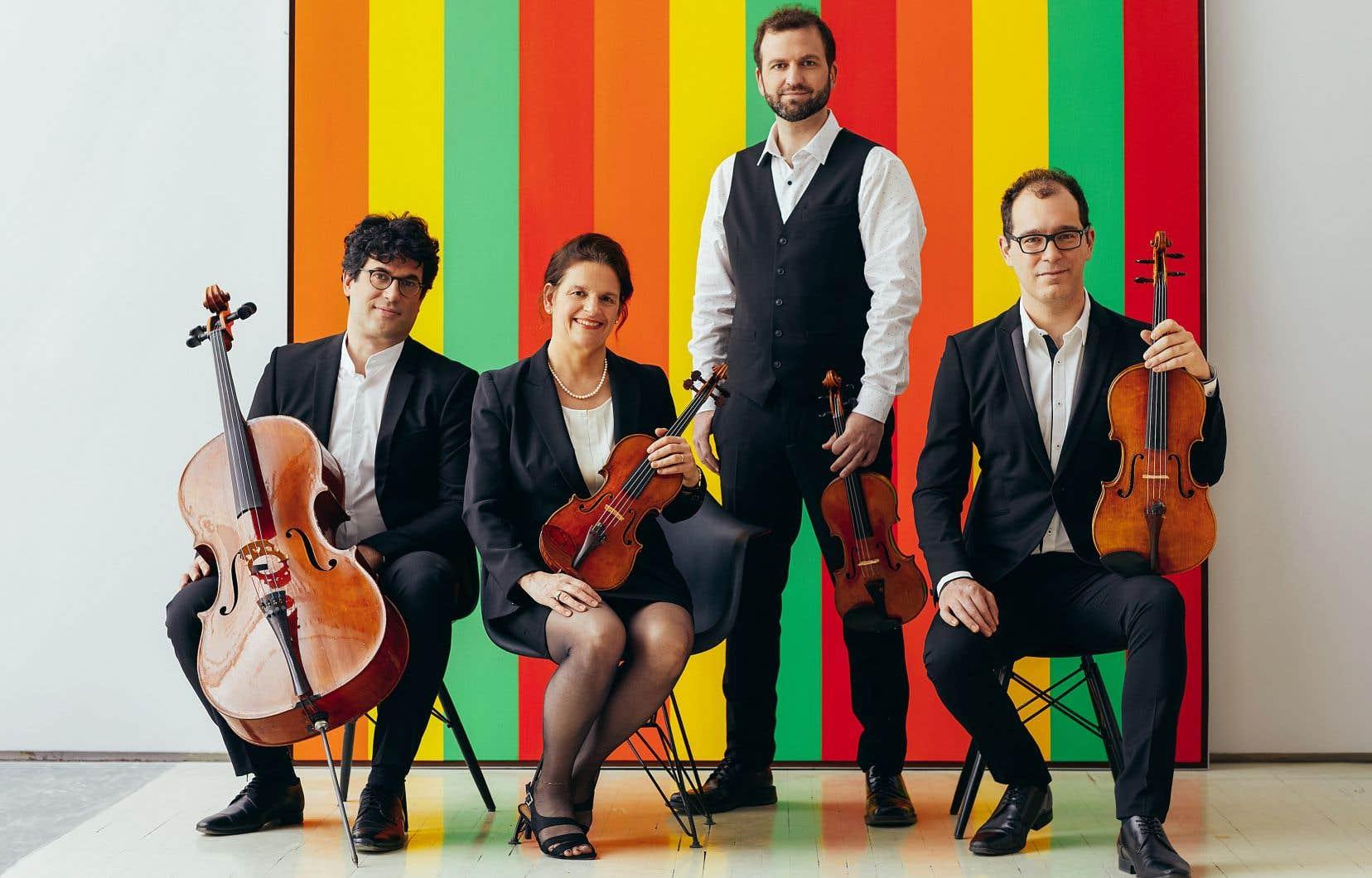 La transition vers un nouveau Quatuor Molinari a été très rapide à partir de l'annonce du retrait de Frédéric Bednarz, fin 2017.