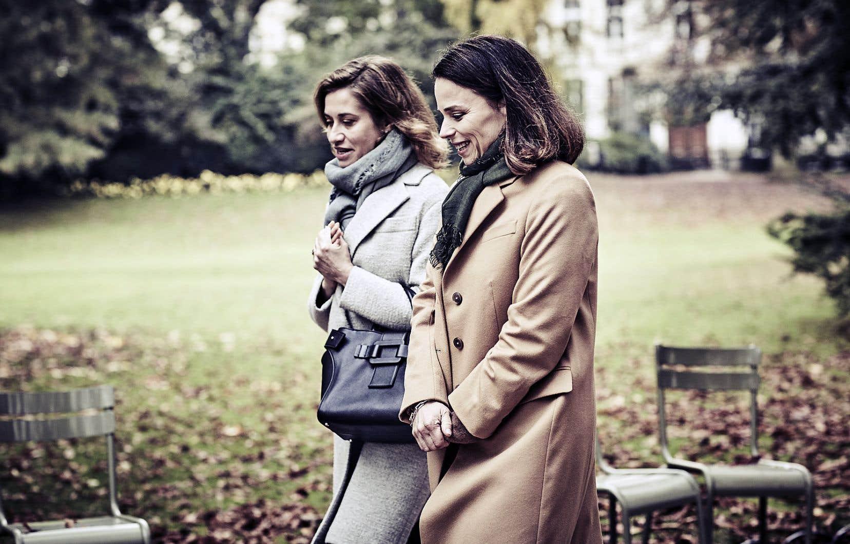 Instructif sans être didactique, «Numéro une», avec les actrices Emmanuelle Devos et Suzanne Clément, se révèle assez passionnant.