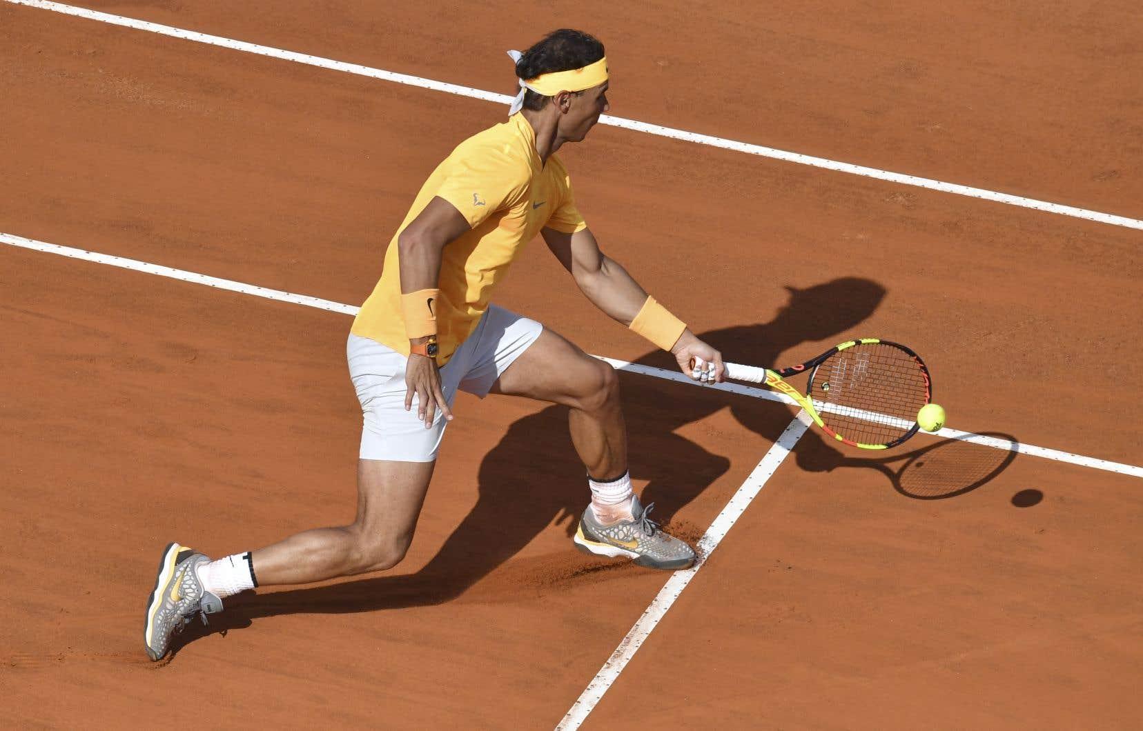 Rafale Nadal est venu à bout de Shapovalov en seulement une heure et 22 minutes.